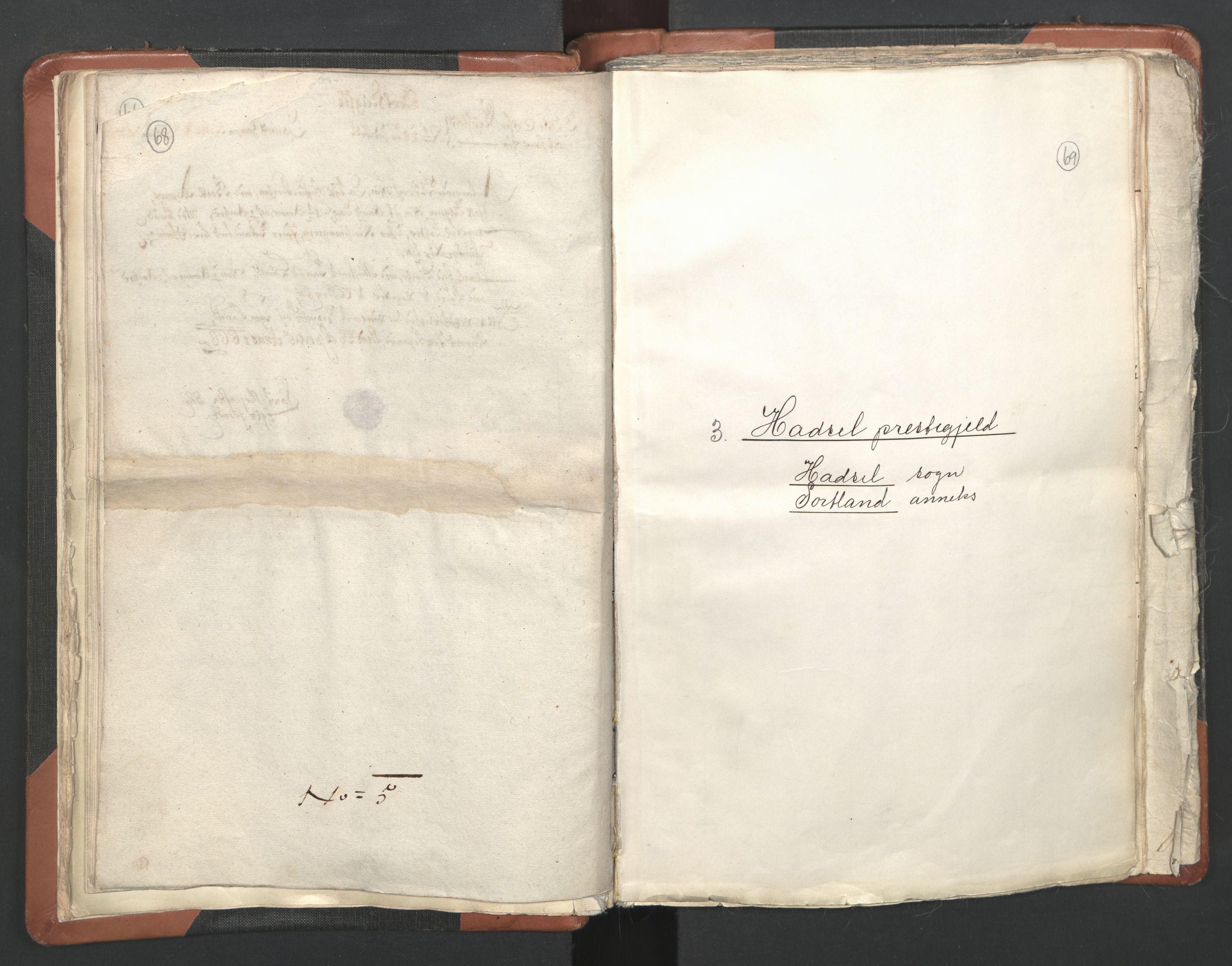 RA, Sogneprestenes manntall 1664-1666, nr. 36: Lofoten og Vesterålen prosti, Senja prosti og Troms prosti, 1664-1666, s. 68-69