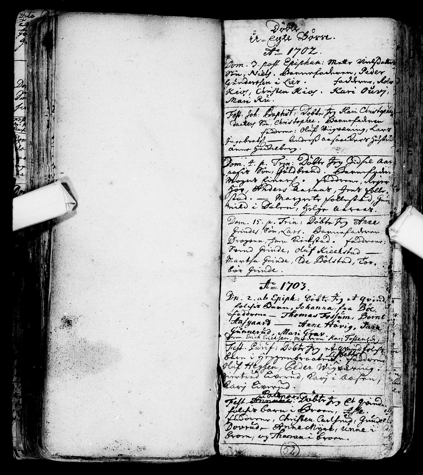 SAKO, Røyken kirkebøker, F/Fa/L0001: Ministerialbok nr. 1, 1701-1730, s. 52