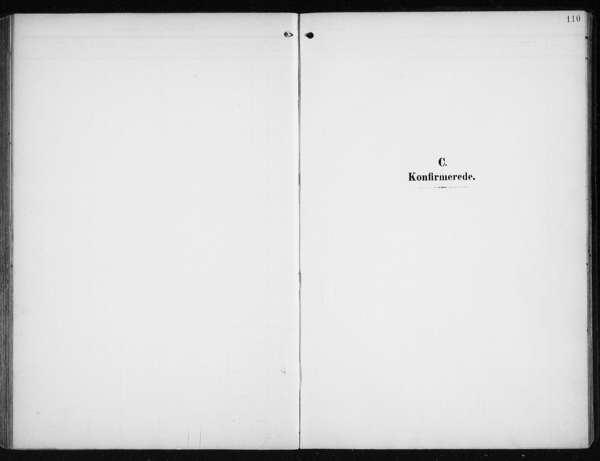 SATØ, Måsøy sokneprestkontor, H/Ha/L0009kirke: Ministerialbok nr. 9, 1903-1914, s. 110