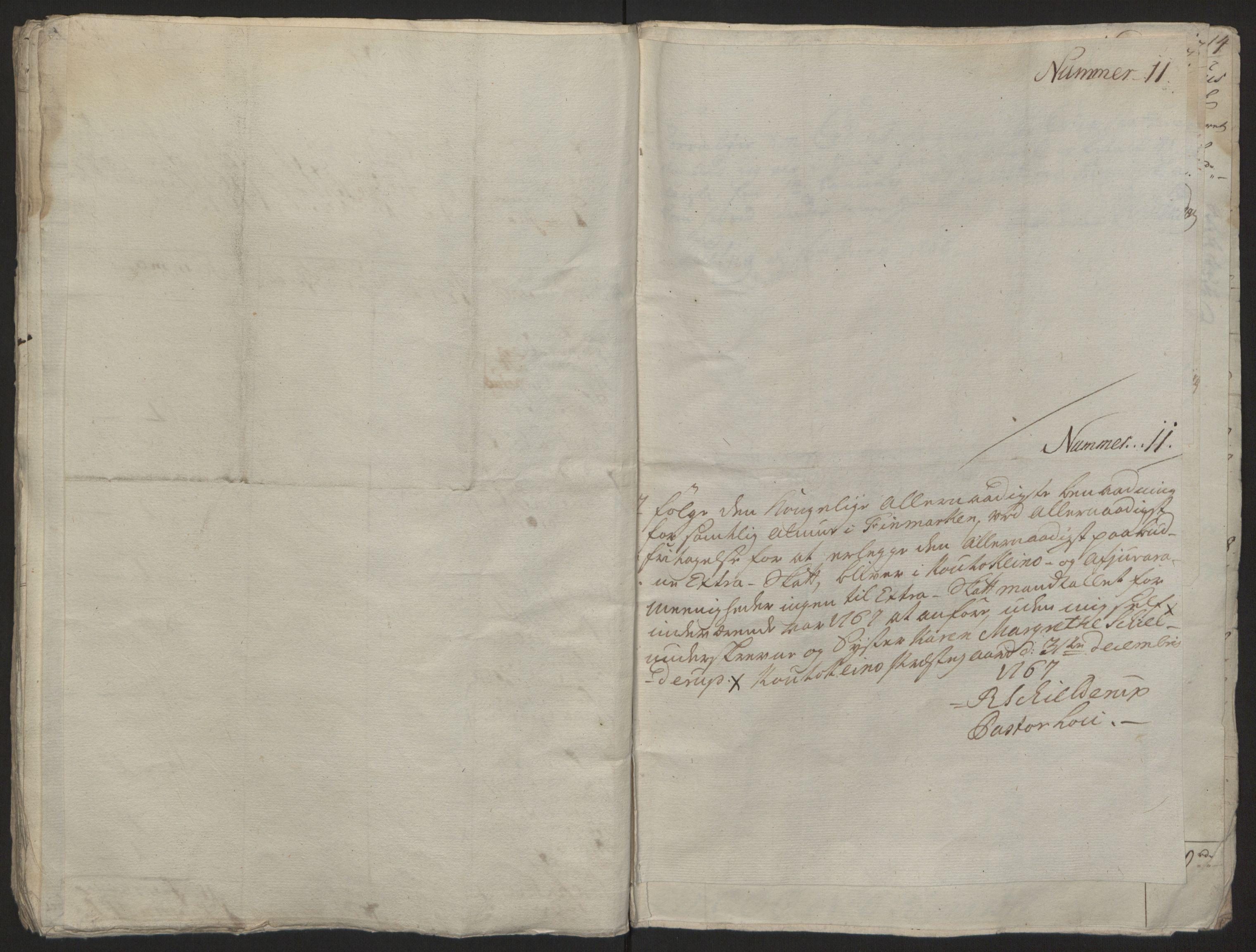 RA, Rentekammeret inntil 1814, Reviderte regnskaper, Fogderegnskap, R69/L4910: Ekstraskatten  Finnmark/Vardøhus, 1762-1772, s. 233