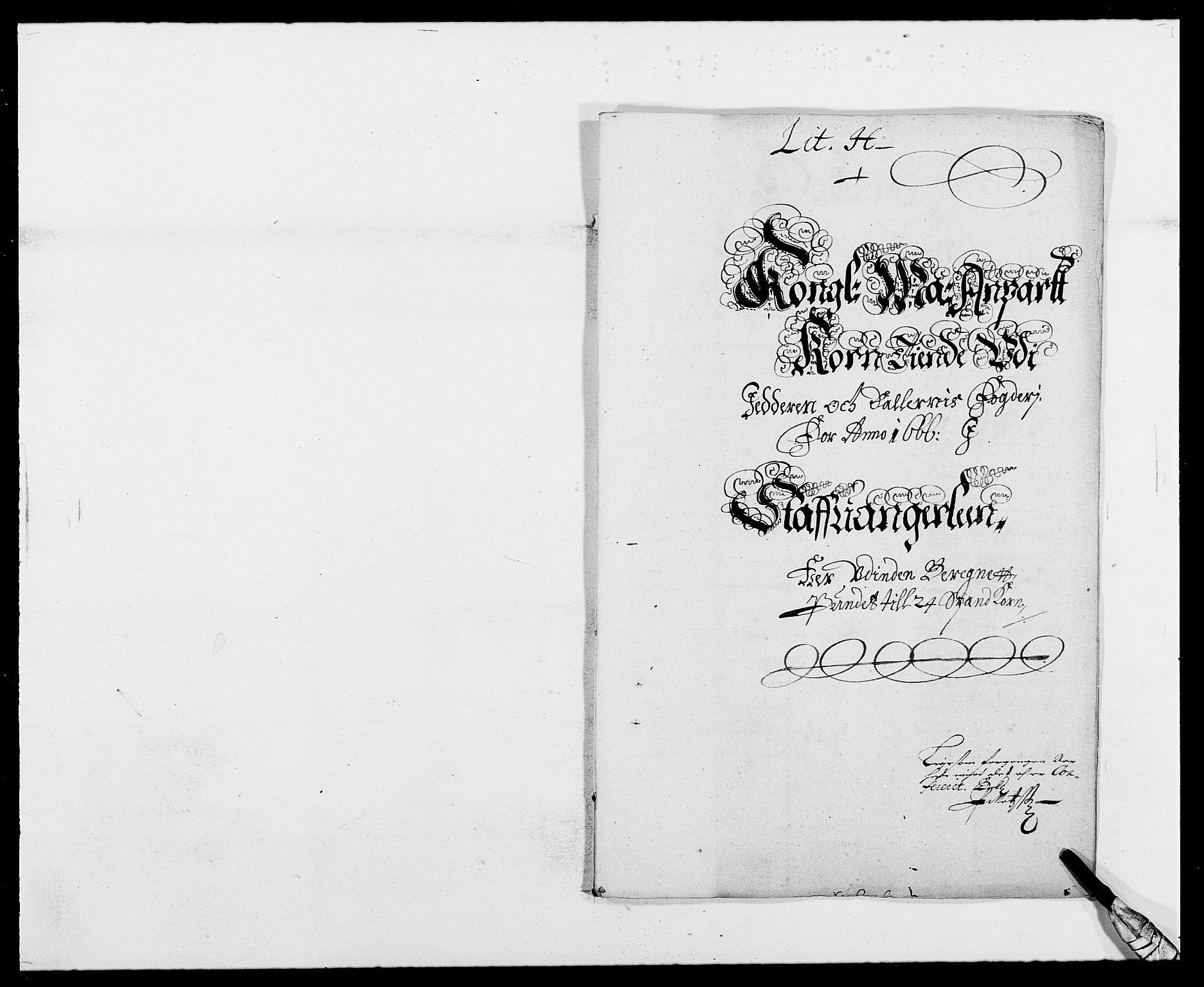 RA, Rentekammeret inntil 1814, Reviderte regnskaper, Fogderegnskap, R46/L2709: Fogderegnskap Jæren og Dalane, 1665-1667, s. 235