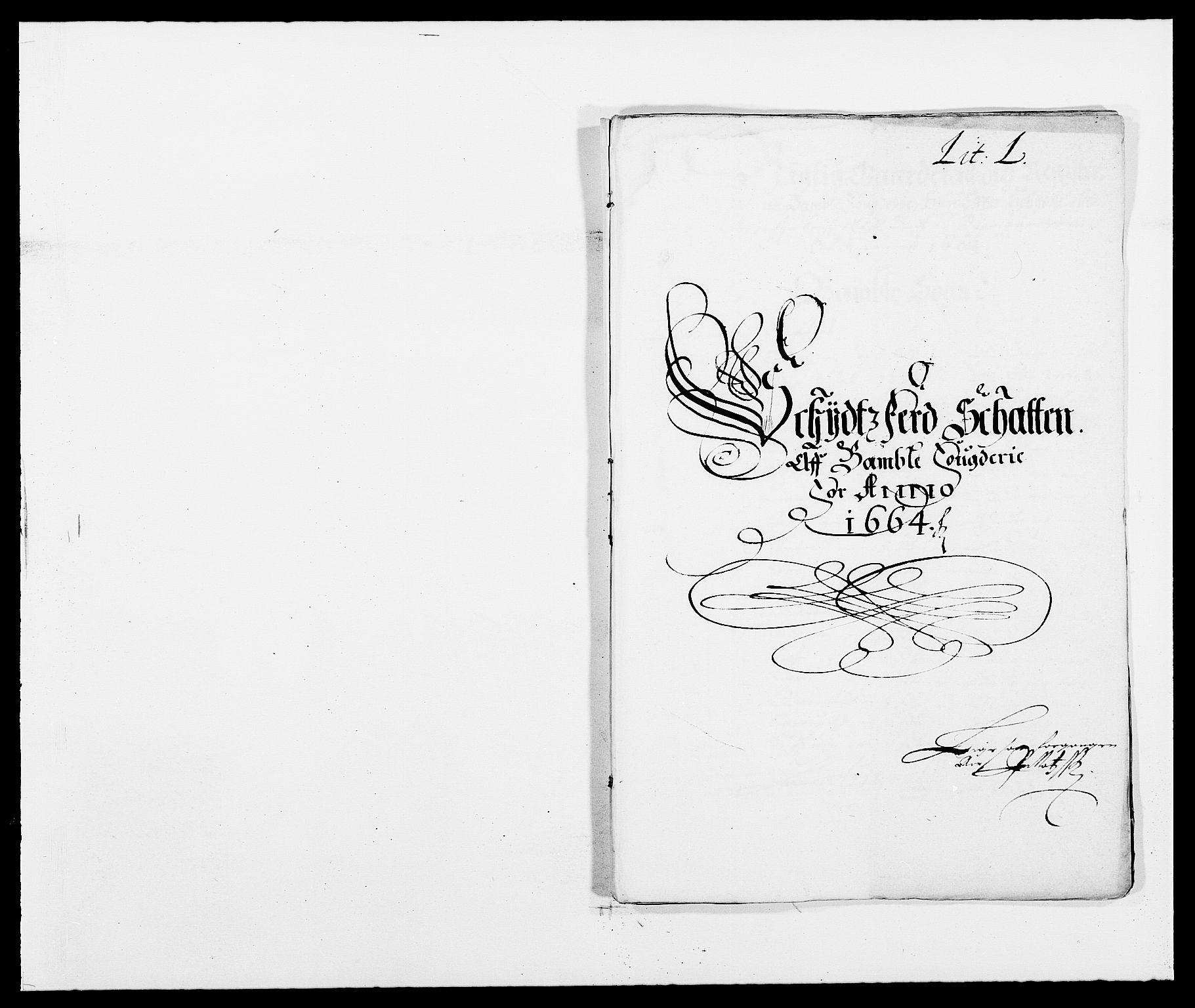 RA, Rentekammeret inntil 1814, Reviderte regnskaper, Fogderegnskap, R34/L2038: Fogderegnskap Bamble, 1662-1669, s. 66