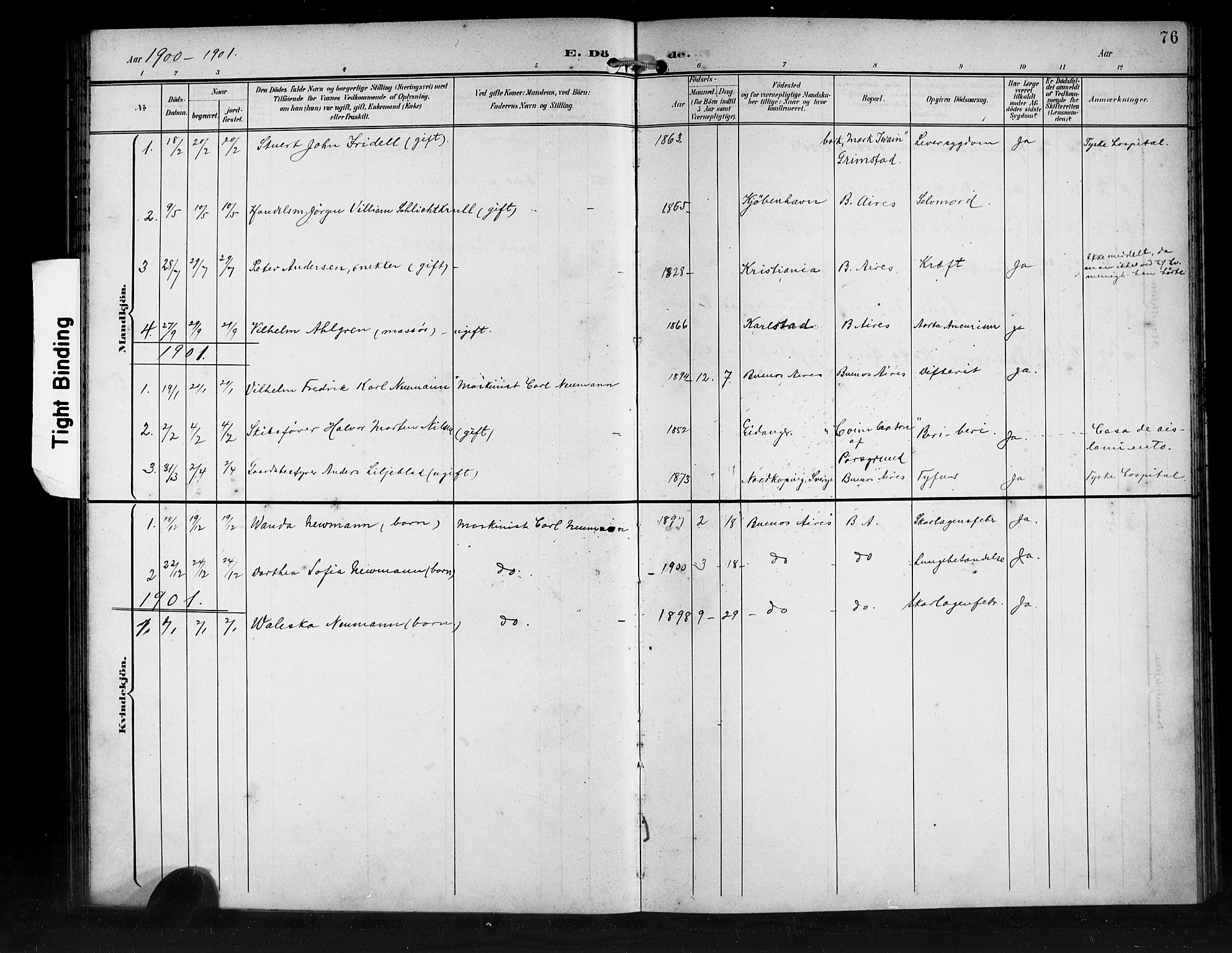 SAB, Den Norske Sjømannsmisjon i utlandet*, Ministerialbok nr. A 2, 1899-1919, s. 76