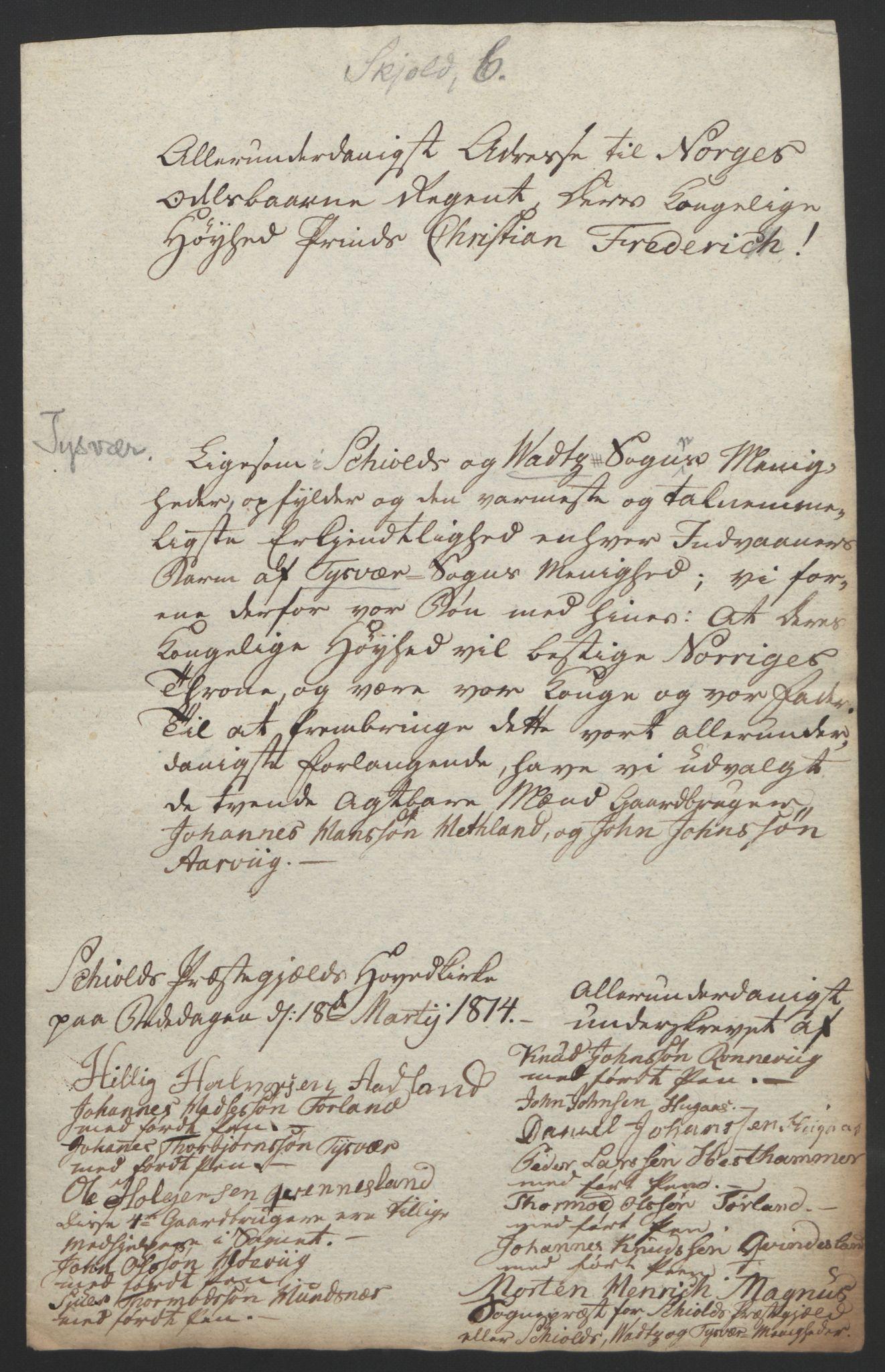 RA, Statsrådssekretariatet, D/Db/L0008: Fullmakter for Eidsvollsrepresentantene i 1814. , 1814, s. 241