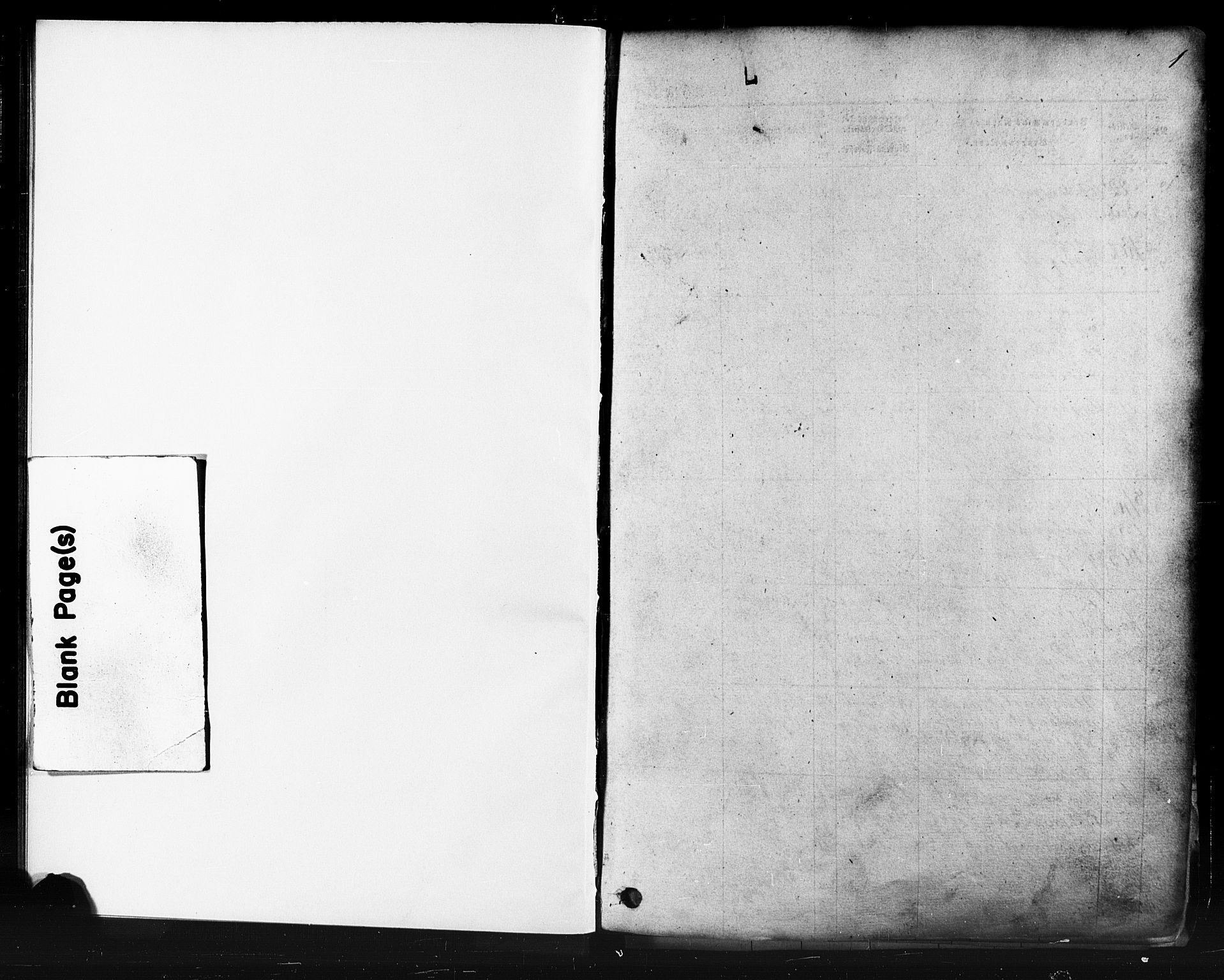 SAST, Domkirken sokneprestkontor, 30/30BB/L0011: Klokkerbok nr. B 11, 1858-1876, s. 1