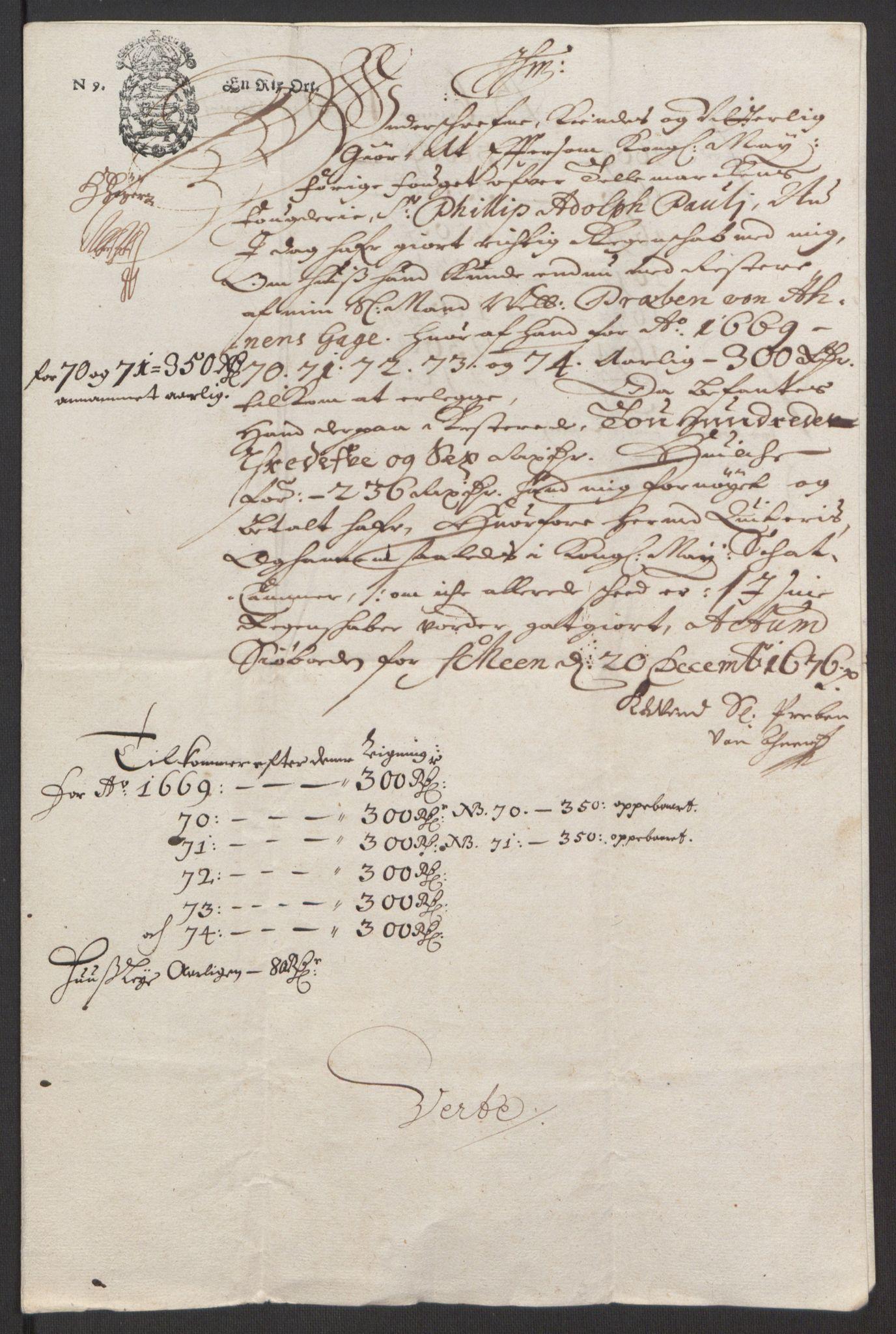 RA, Rentekammeret inntil 1814, Reviderte regnskaper, Fogderegnskap, R35/L2061: Fogderegnskap Øvre og Nedre Telemark, 1673-1674, s. 223