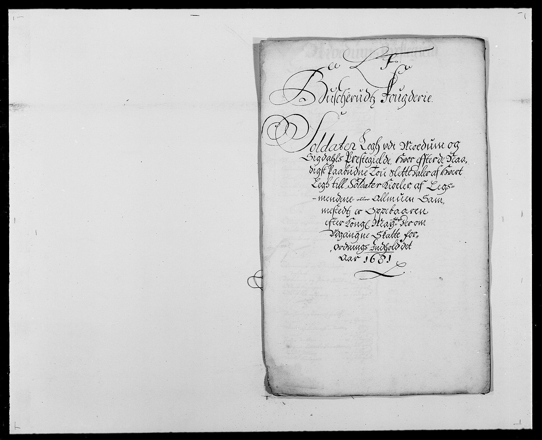RA, Rentekammeret inntil 1814, Reviderte regnskaper, Fogderegnskap, R25/L1675: Fogderegnskap Buskerud, 1678-1681, s. 323