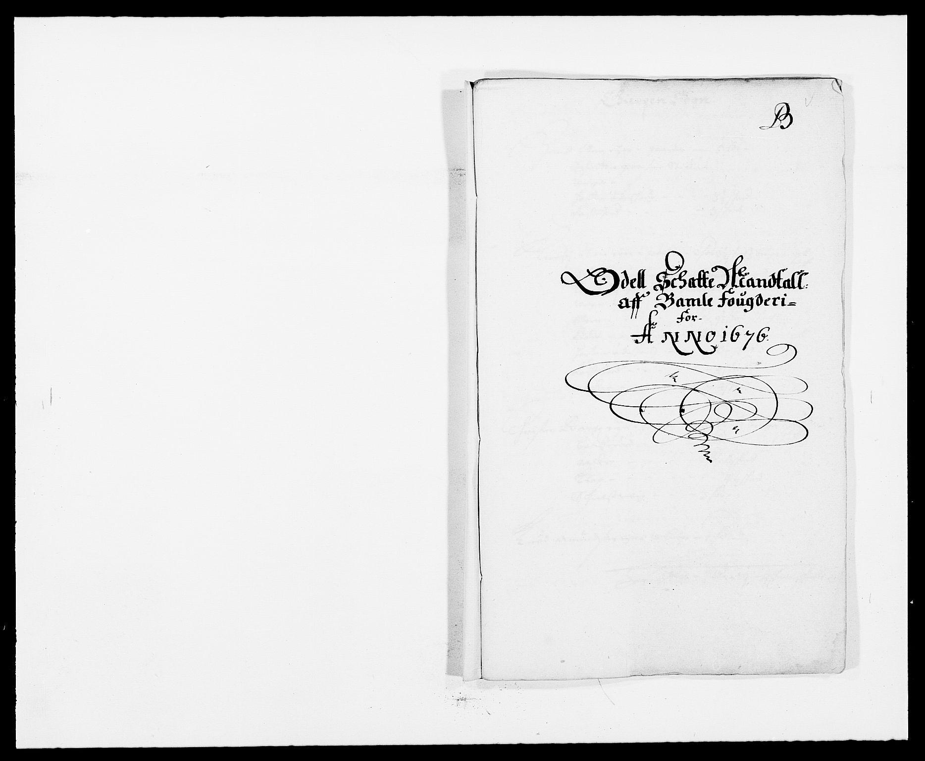 RA, Rentekammeret inntil 1814, Reviderte regnskaper, Fogderegnskap, R34/L2043: Fogderegnskap Bamble, 1676-1677, s. 51
