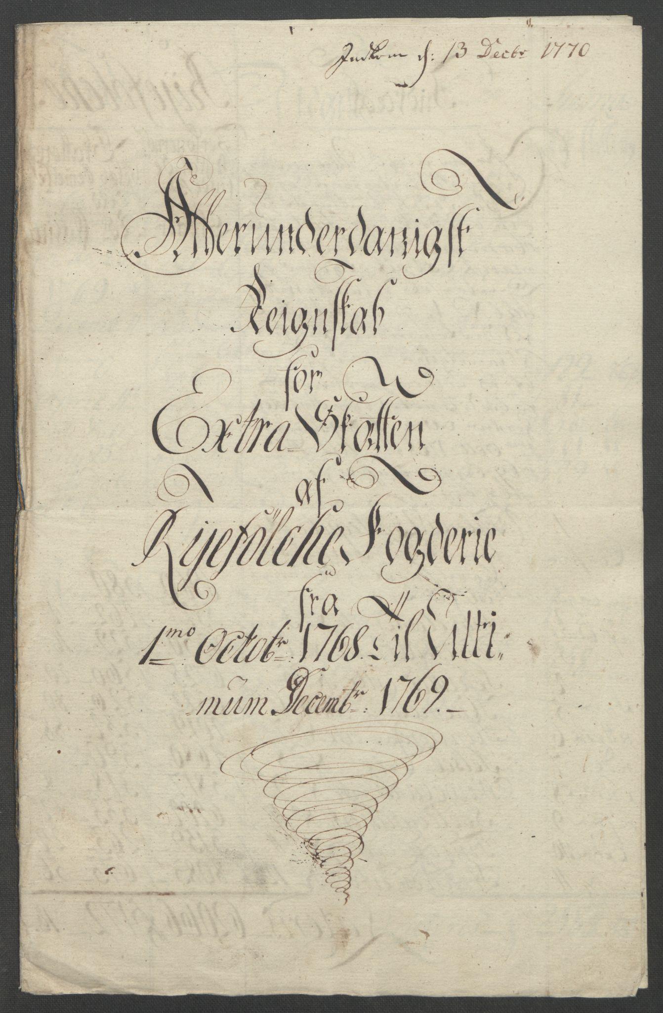 RA, Rentekammeret inntil 1814, Reviderte regnskaper, Fogderegnskap, R47/L2972: Ekstraskatten Ryfylke, 1762-1780, s. 164