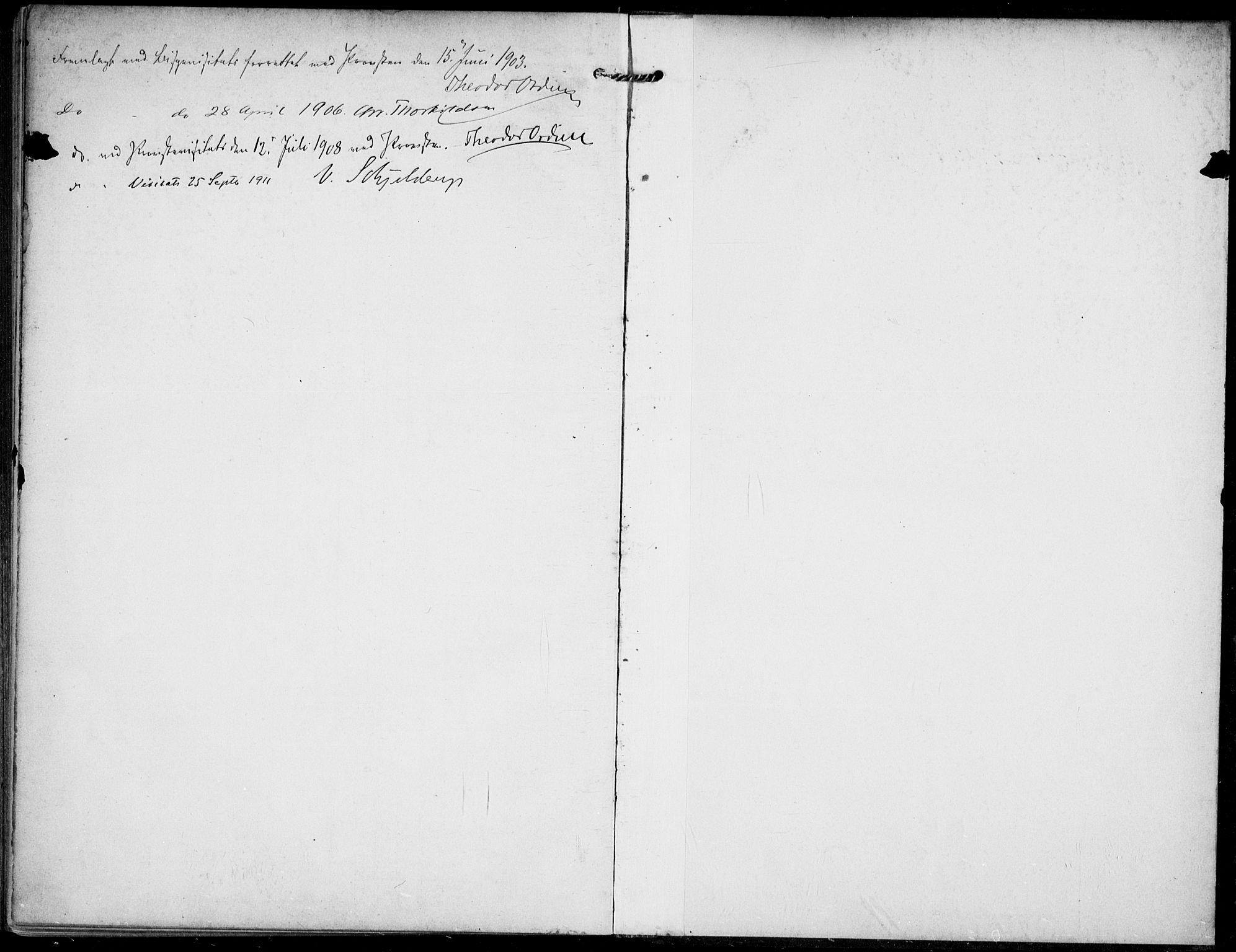 SAKO, Lunde kirkebøker, F/Fa/L0004: Ministerialbok nr. I 4, 1902-1913
