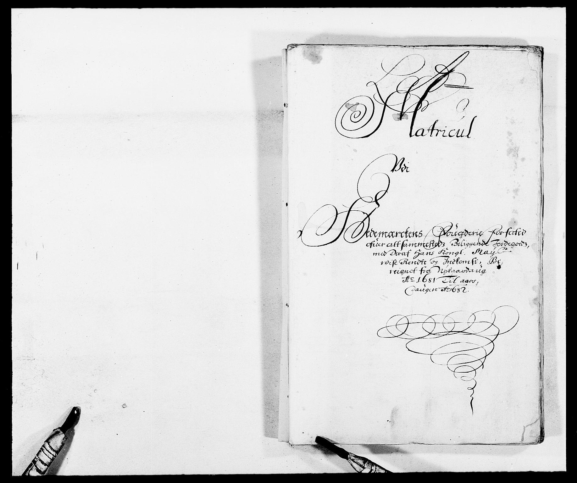 RA, Rentekammeret inntil 1814, Reviderte regnskaper, Fogderegnskap, R16/L1021: Fogderegnskap Hedmark, 1681, s. 10