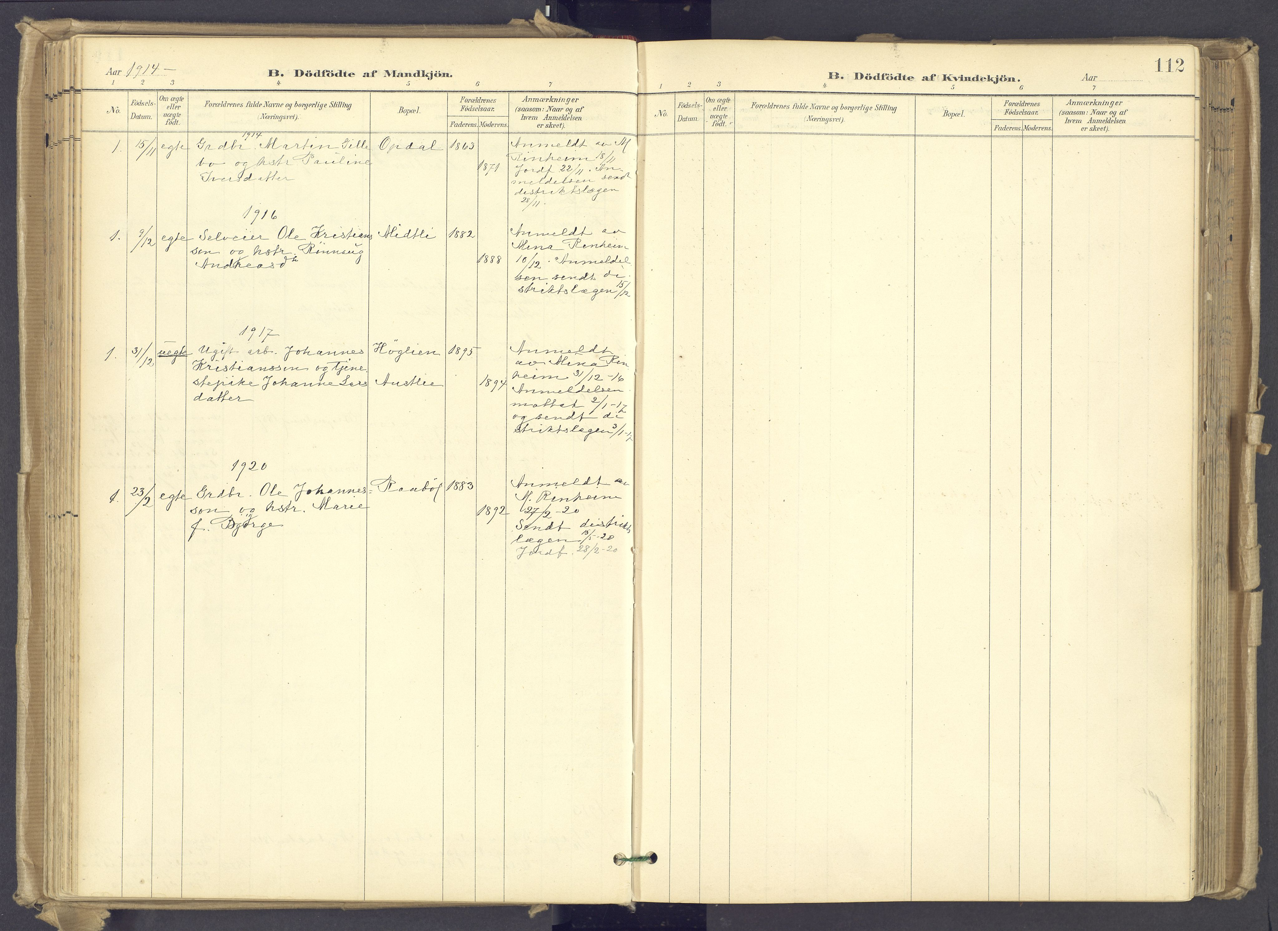SAH, Øyer prestekontor, Ministerialbok nr. 12, 1897-1920, s. 112