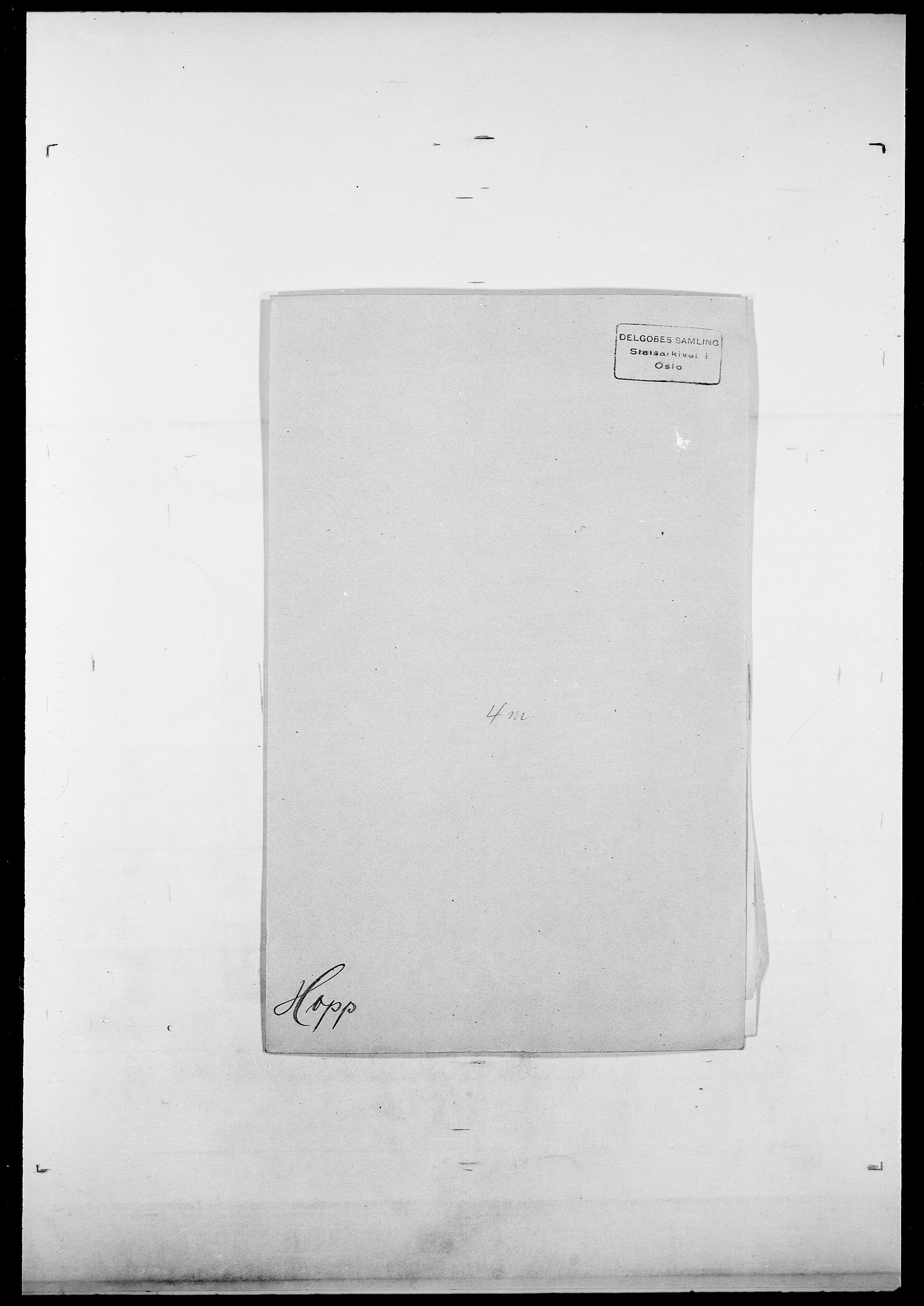 SAO, Delgobe, Charles Antoine - samling, D/Da/L0018: Hoch - Howert, s. 924