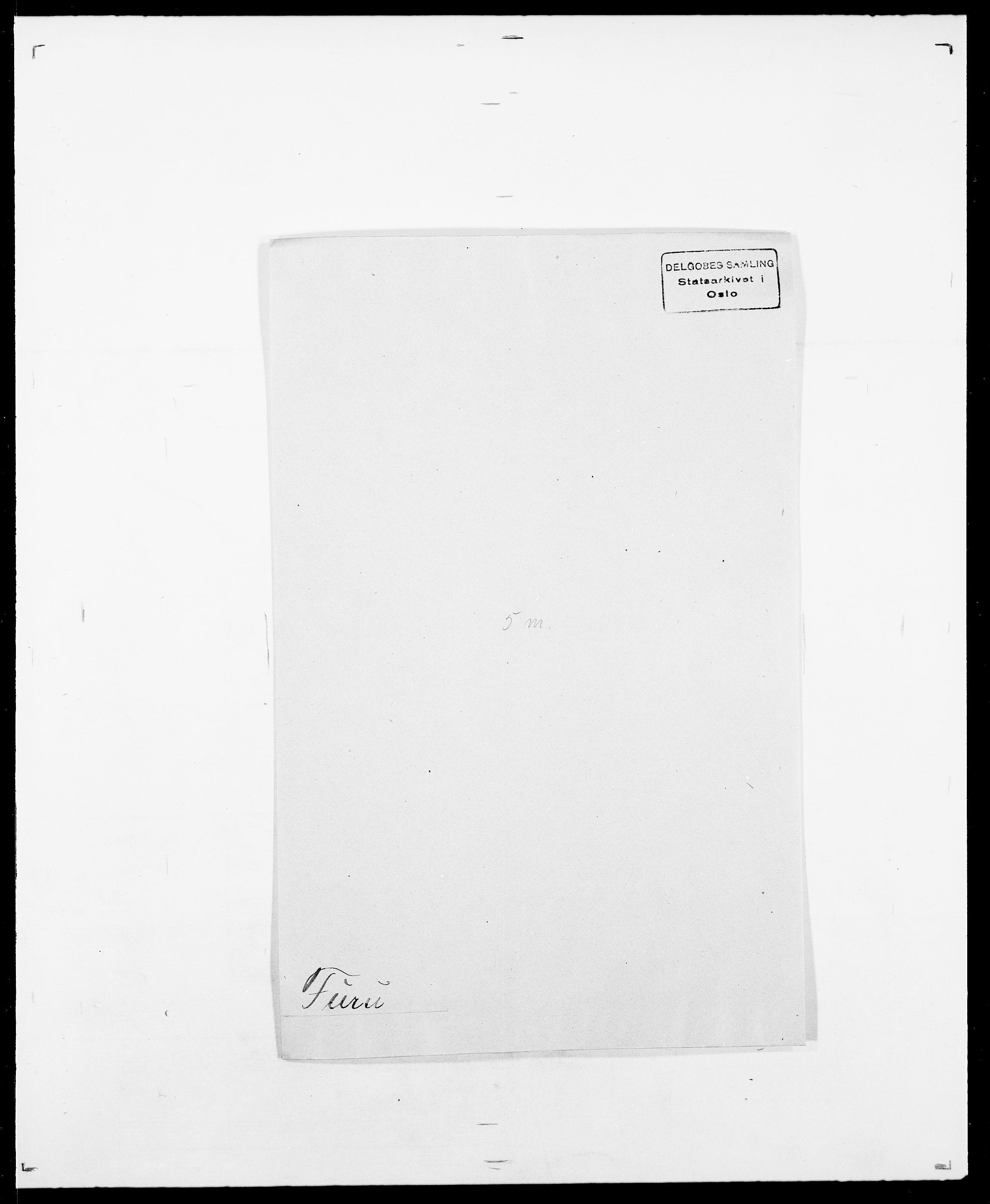 SAO, Delgobe, Charles Antoine - samling, D/Da/L0013: Forbos - Geving, s. 209