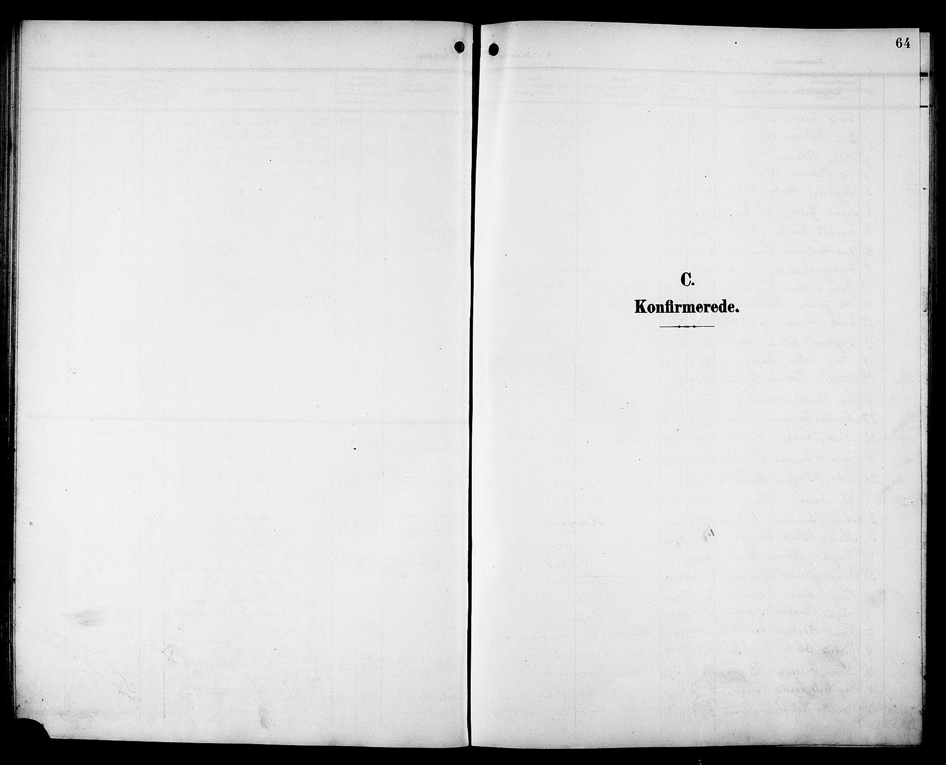 SAT, Ministerialprotokoller, klokkerbøker og fødselsregistre - Sør-Trøndelag, 692/L1112: Klokkerbok nr. 692C07, 1904-1918, s. 64
