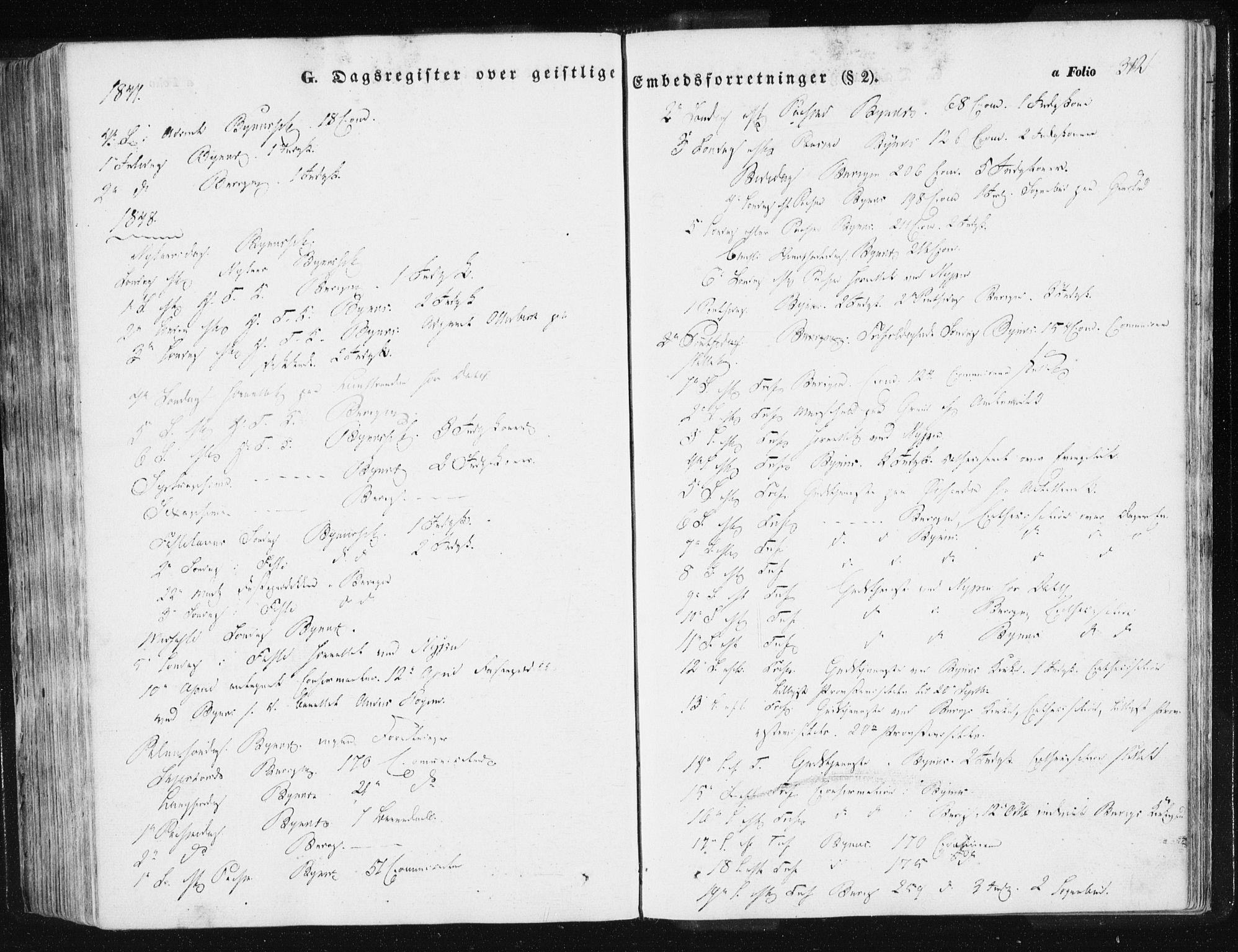 SAT, Ministerialprotokoller, klokkerbøker og fødselsregistre - Sør-Trøndelag, 612/L0376: Ministerialbok nr. 612A08, 1846-1859, s. 312