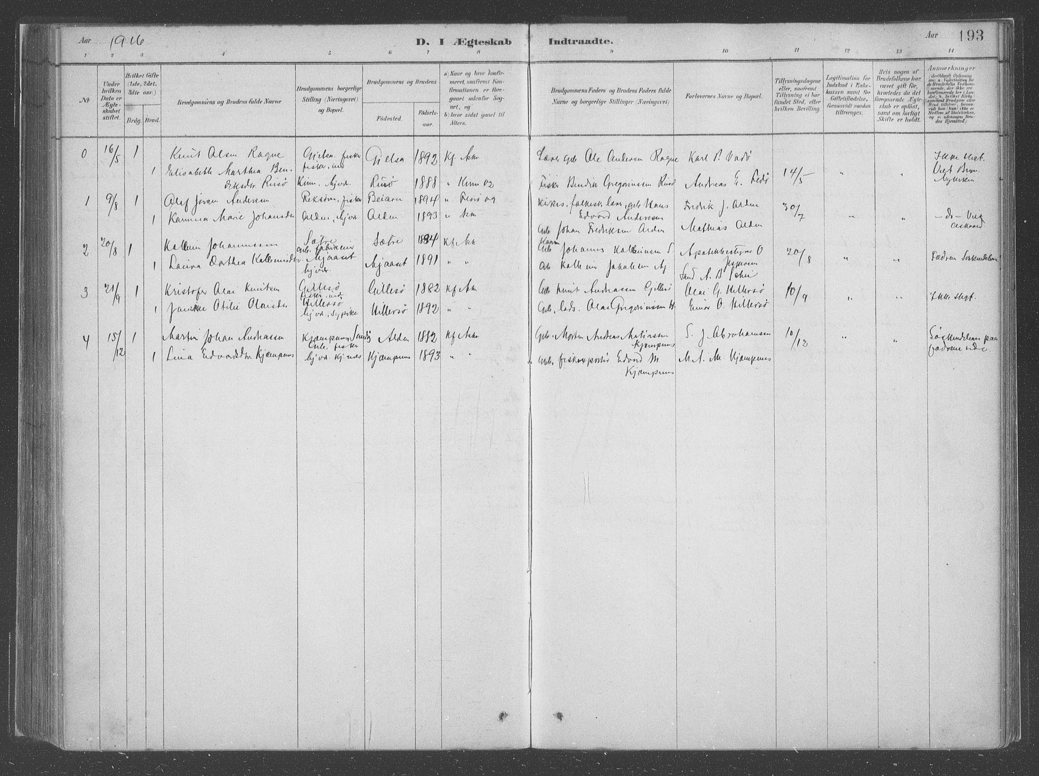 SAB, Askvoll Sokneprestembete, Ministerialbok nr. C  1, 1879-1922, s. 193