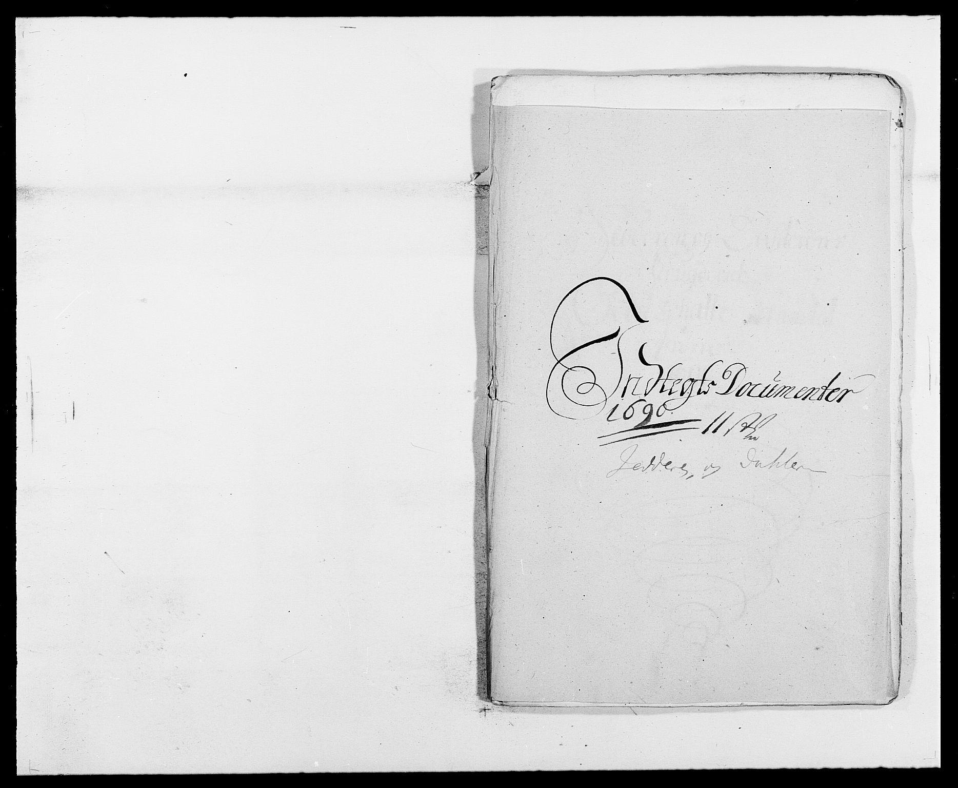 RA, Rentekammeret inntil 1814, Reviderte regnskaper, Fogderegnskap, R46/L2727: Fogderegnskap Jæren og Dalane, 1690-1693, s. 10
