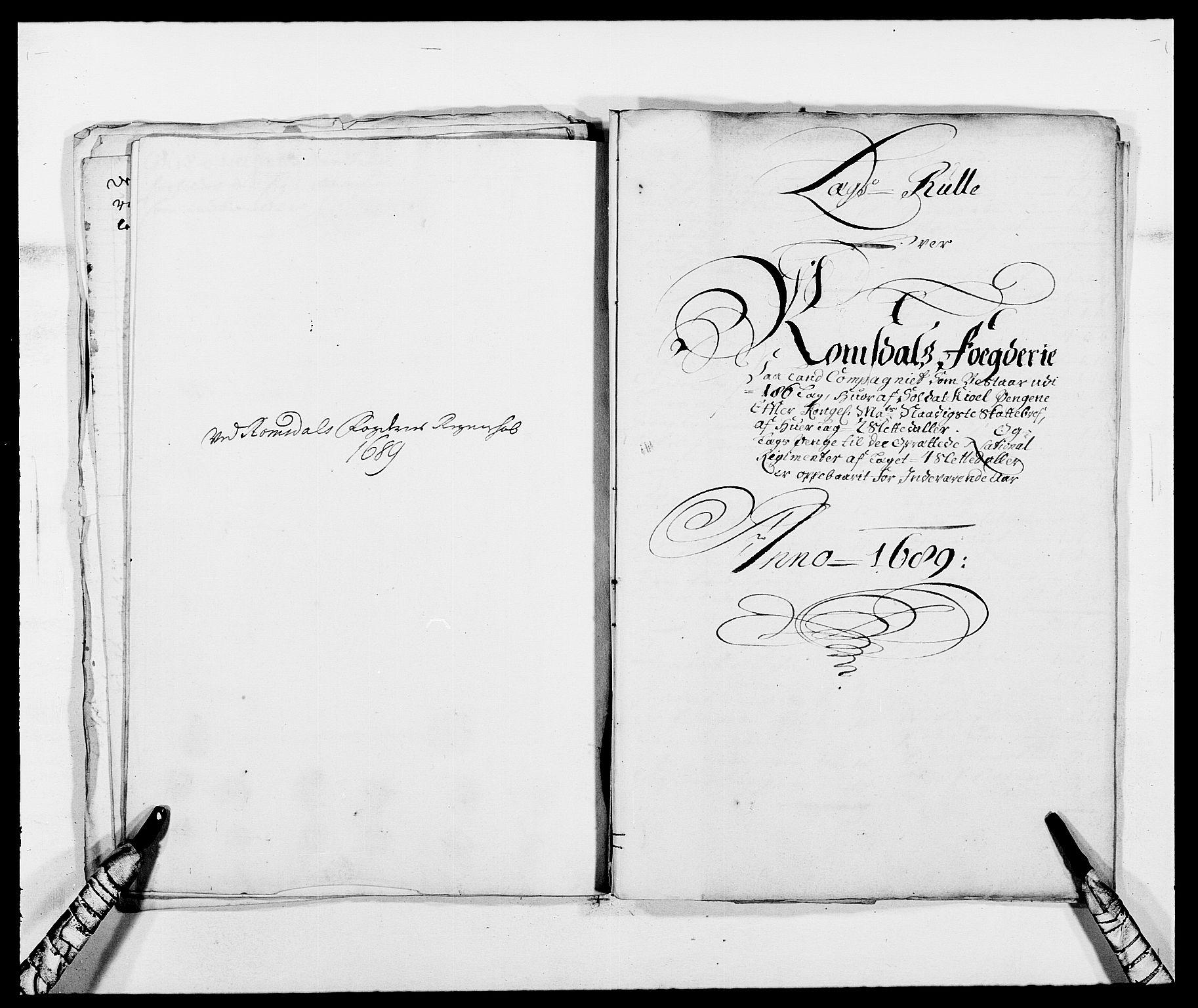 RA, Rentekammeret inntil 1814, Reviderte regnskaper, Fogderegnskap, R55/L3648: Fogderegnskap Romsdal, 1687-1689, s. 333