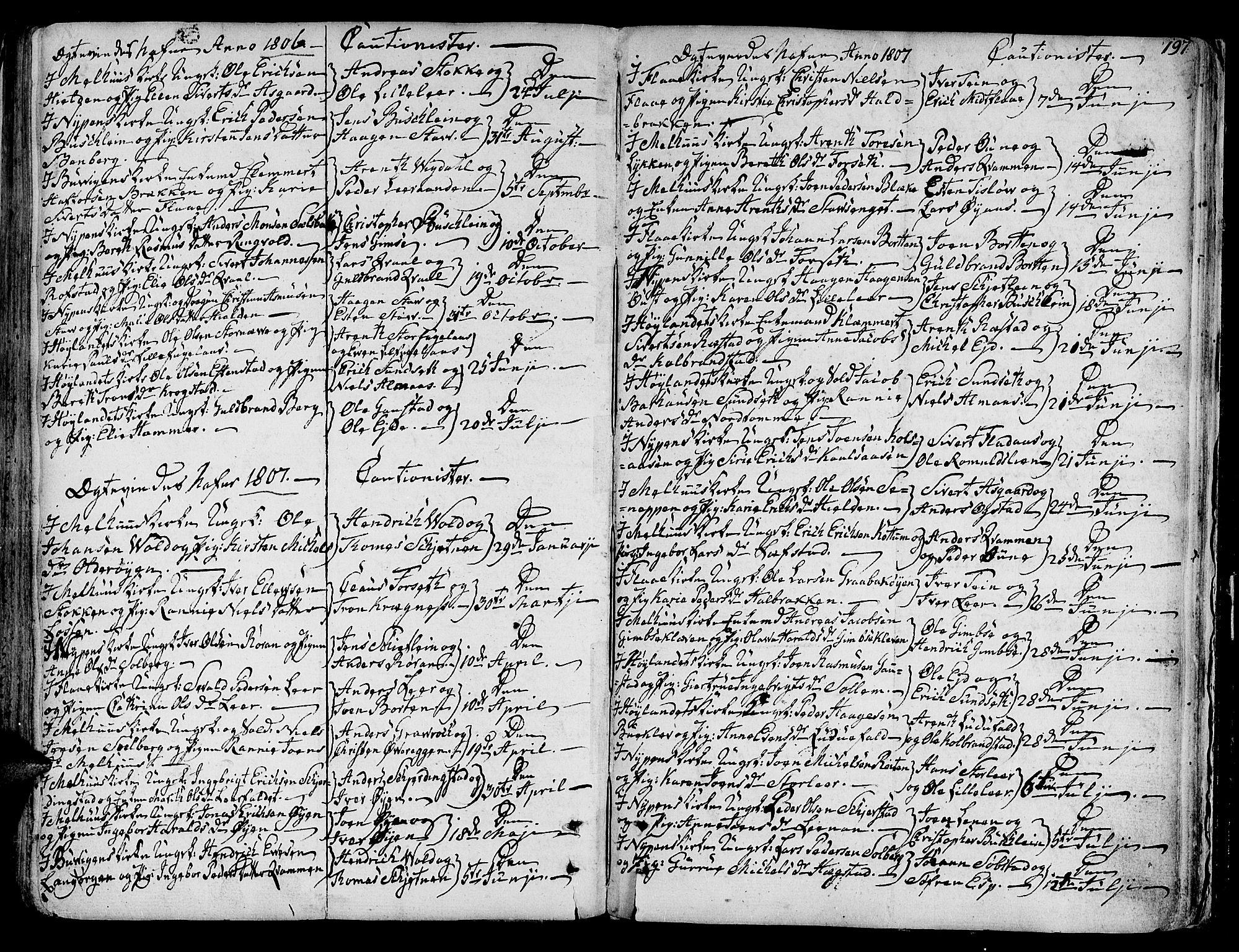 SAT, Ministerialprotokoller, klokkerbøker og fødselsregistre - Sør-Trøndelag, 691/L1061: Ministerialbok nr. 691A02 /1, 1768-1815, s. 197