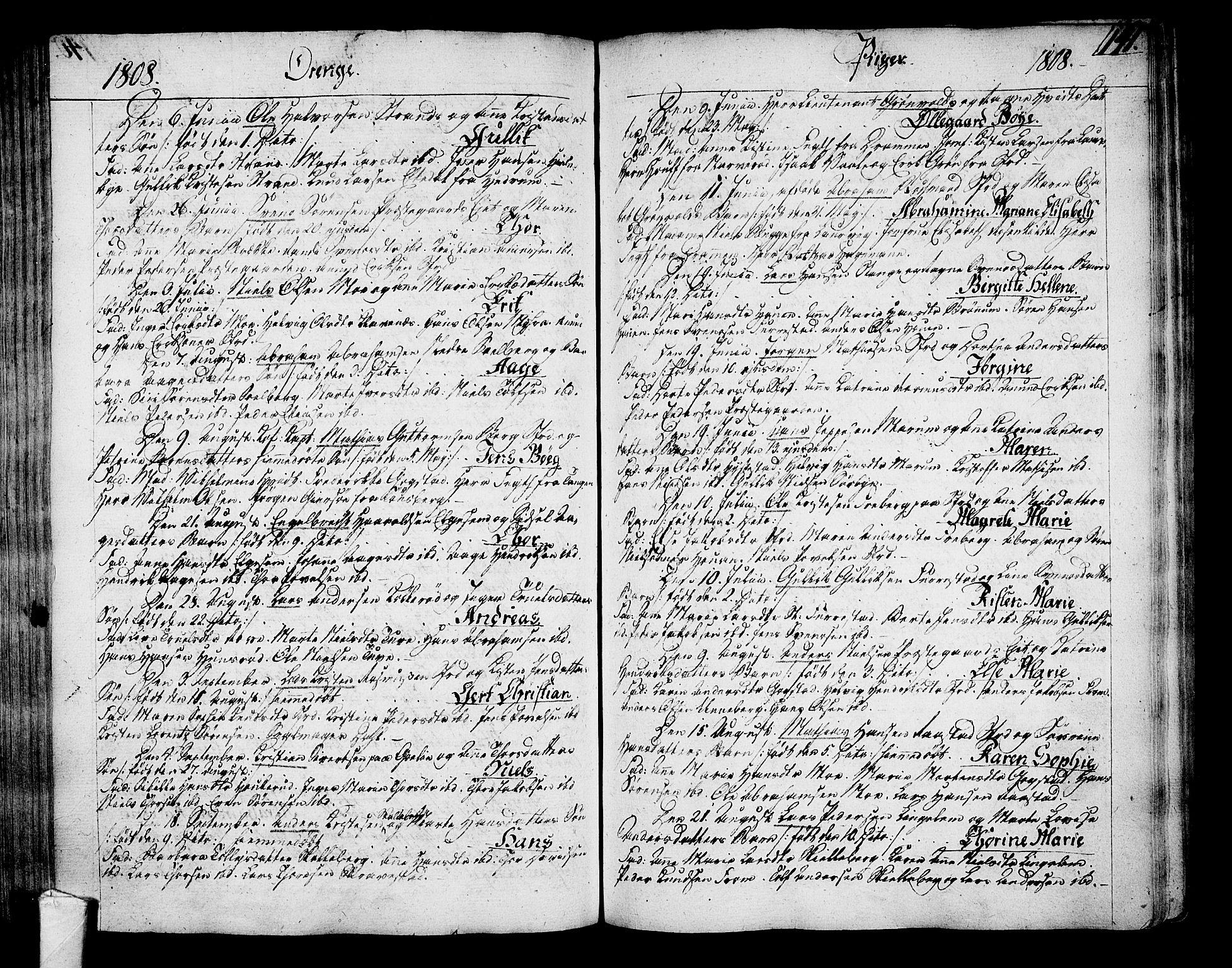 SAKO, Sandar kirkebøker, F/Fa/L0003: Ministerialbok nr. 3, 1789-1814, s. 141