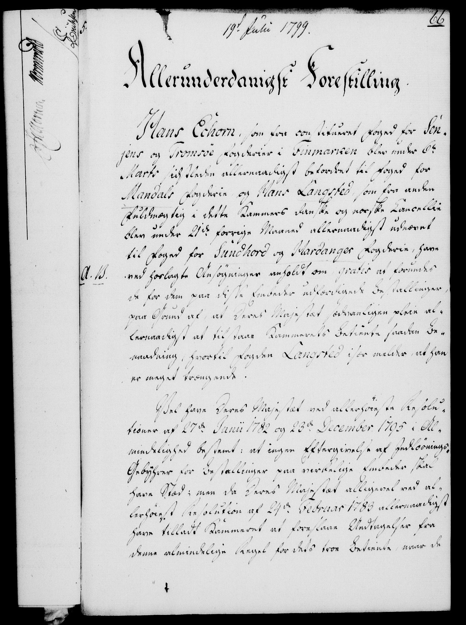 RA, Rentekammeret, Kammerkanselliet, G/Gf/Gfa/L0081: Norsk relasjons- og resolusjonsprotokoll (merket RK 52.81), 1799, s. 422