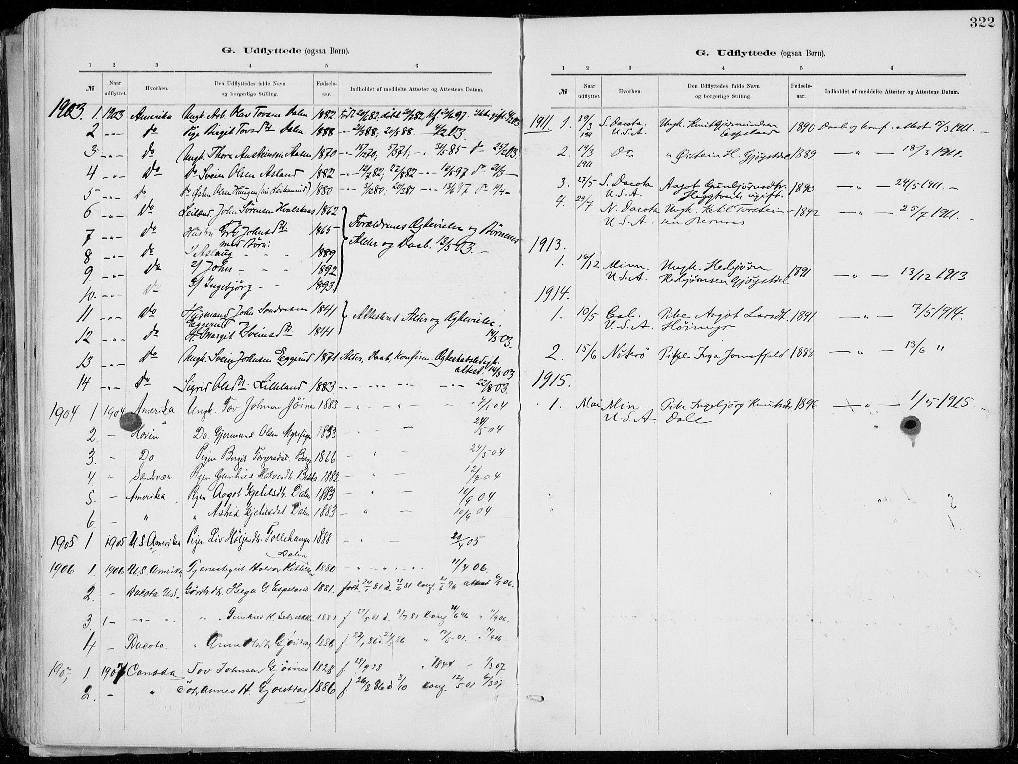 SAKO, Tinn kirkebøker, F/Fa/L0007: Ministerialbok nr. I 7, 1878-1922, s. 322