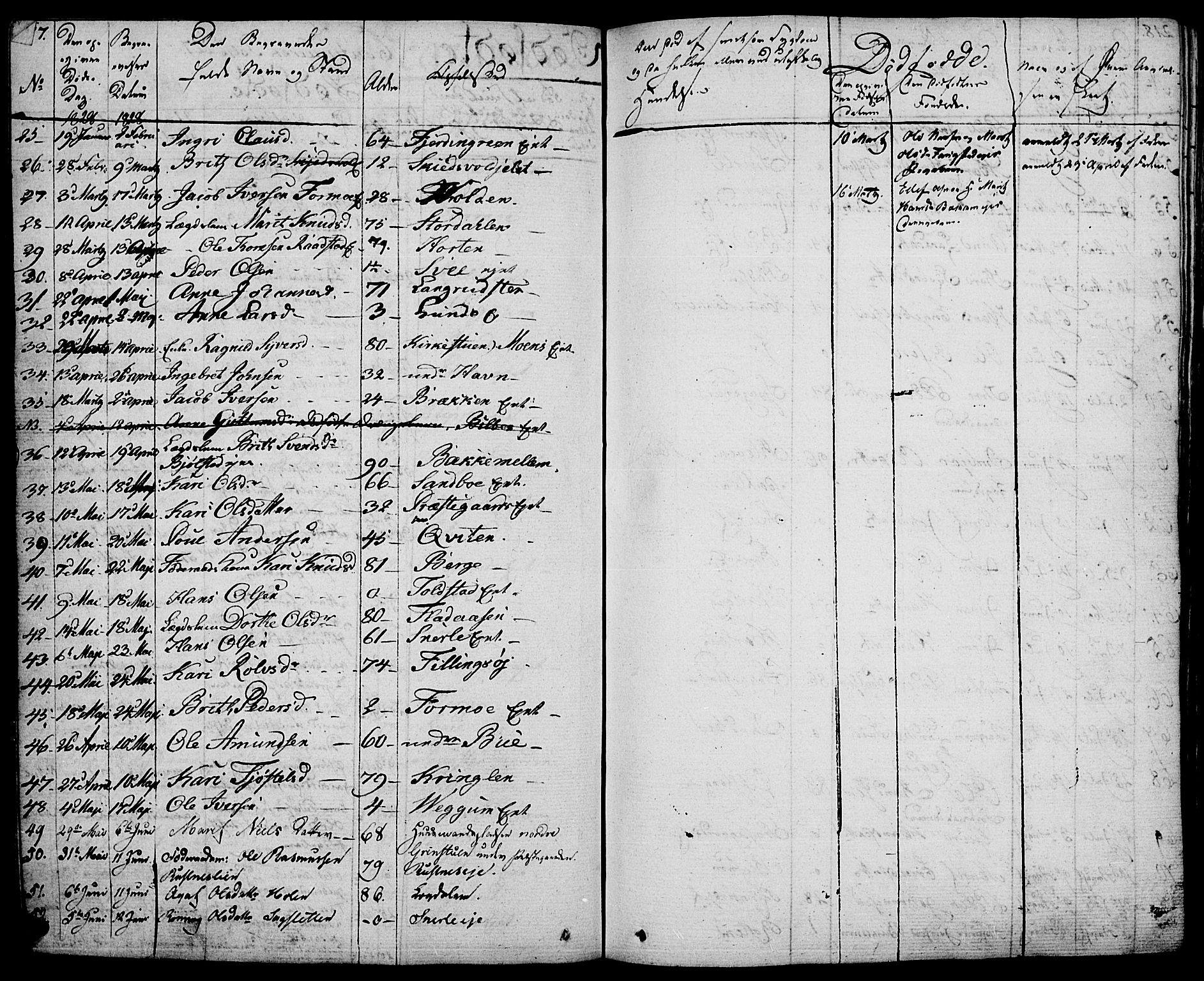 SAH, Vågå prestekontor, Ministerialbok nr. 4 /1, 1827-1842, s. 217