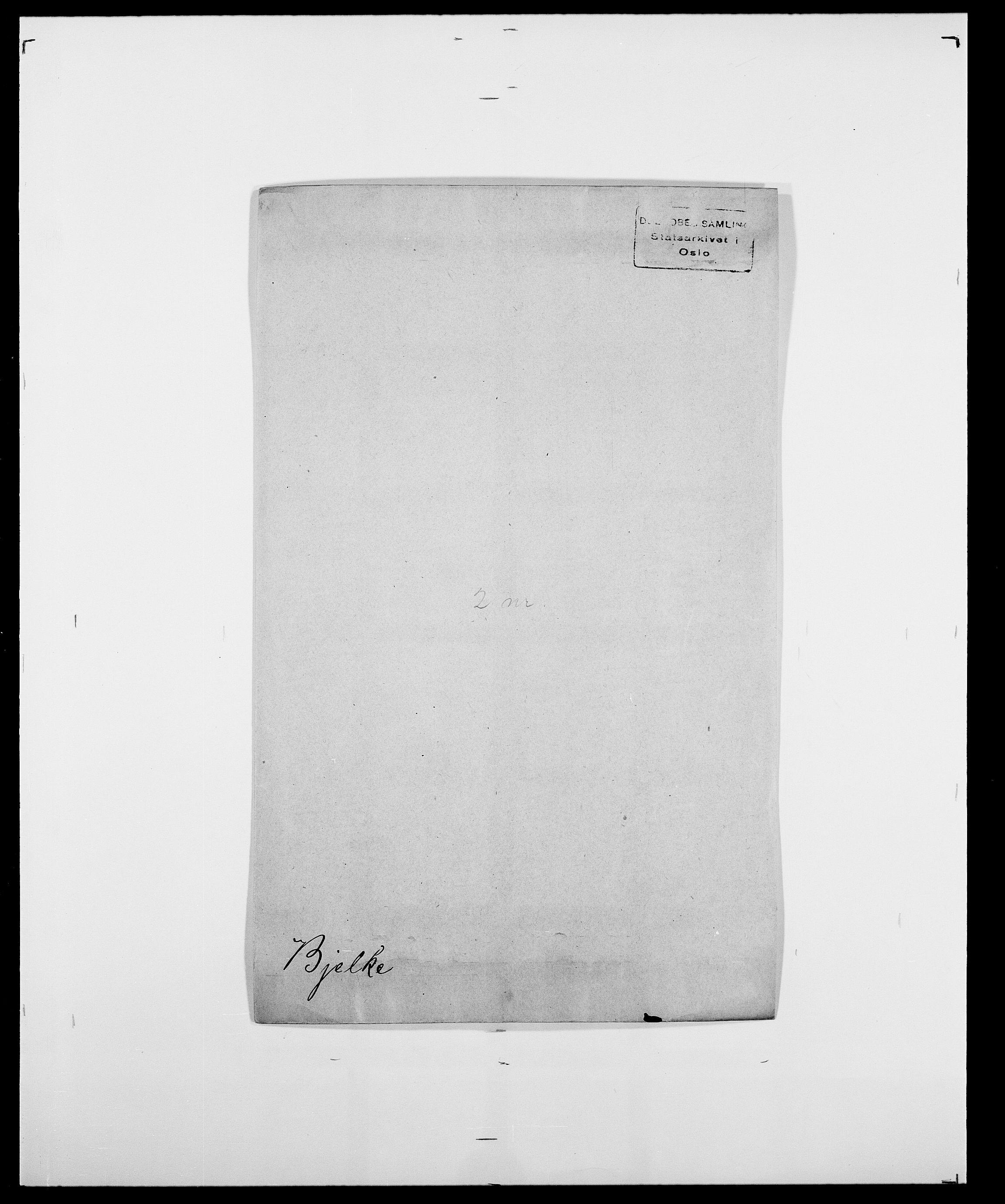 SAO, Delgobe, Charles Antoine - samling, D/Da/L0004: Bergendahl - Blære, s. 234