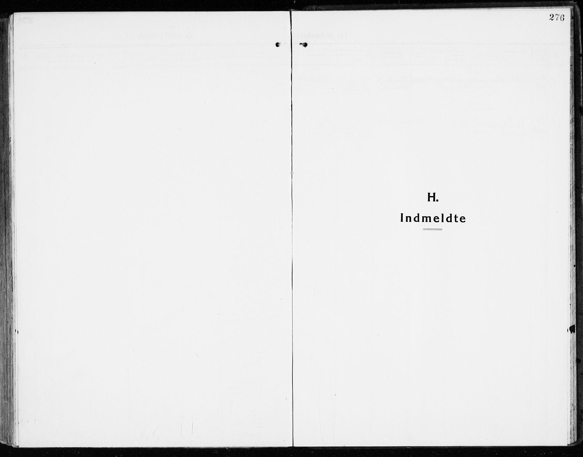 SAH, Stange prestekontor, K/L0025: Ministerialbok nr. 25, 1921-1945, s. 276