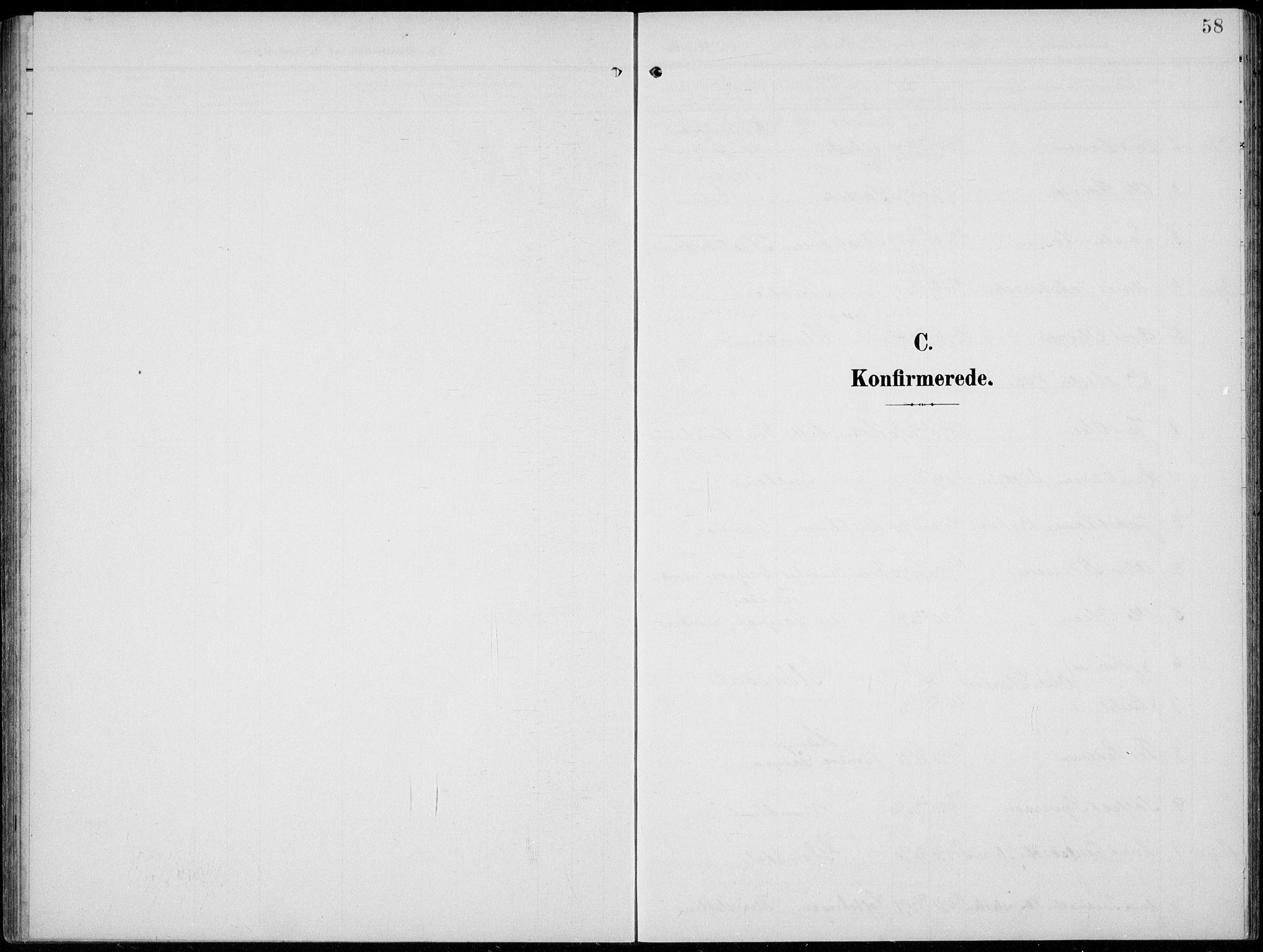 SAH, Lom prestekontor, L/L0007: Klokkerbok nr. 7, 1904-1938, s. 58