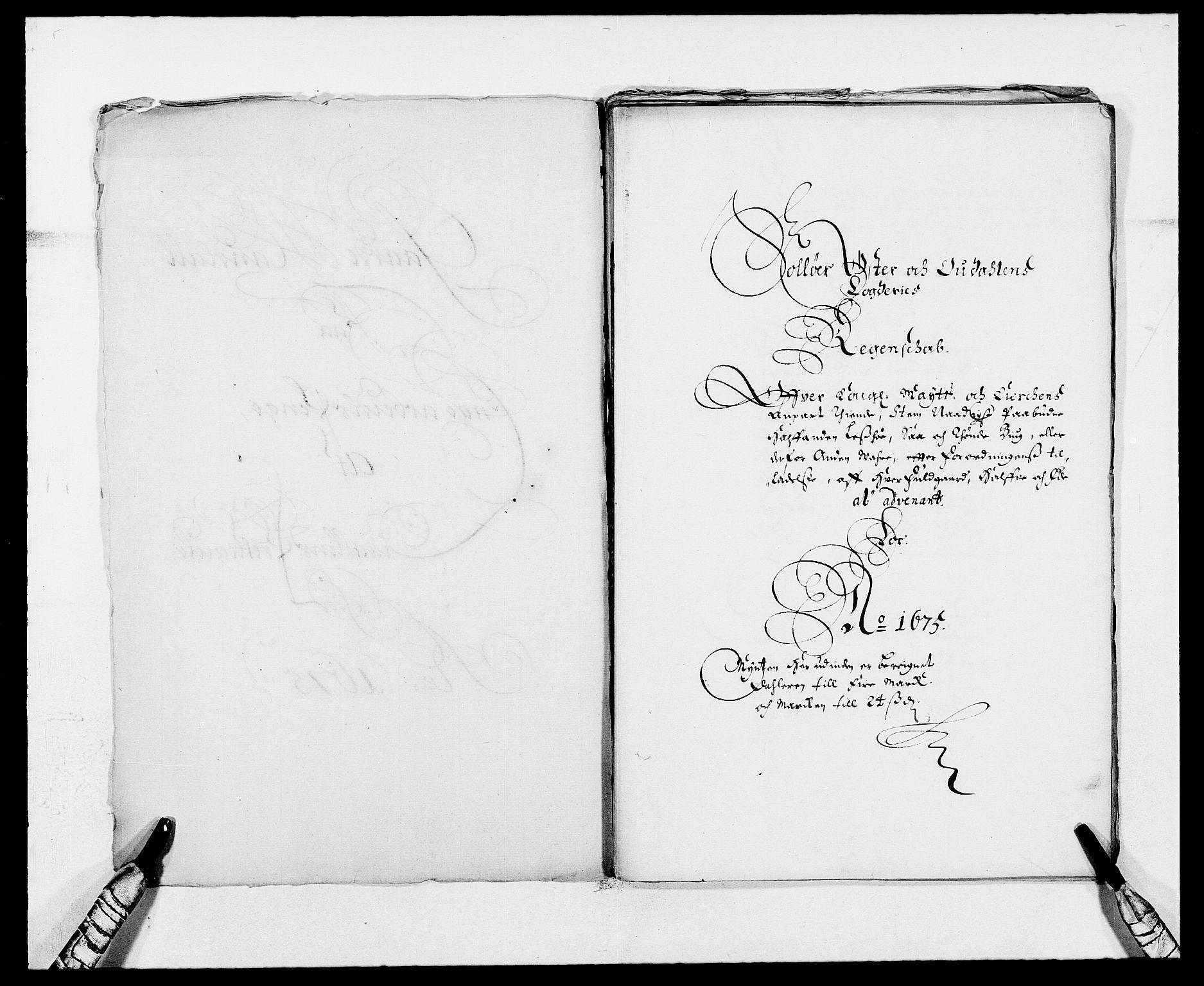 RA, Rentekammeret inntil 1814, Reviderte regnskaper, Fogderegnskap, R13/L0808: Fogderegnskap Solør, Odal og Østerdal, 1675, s. 2