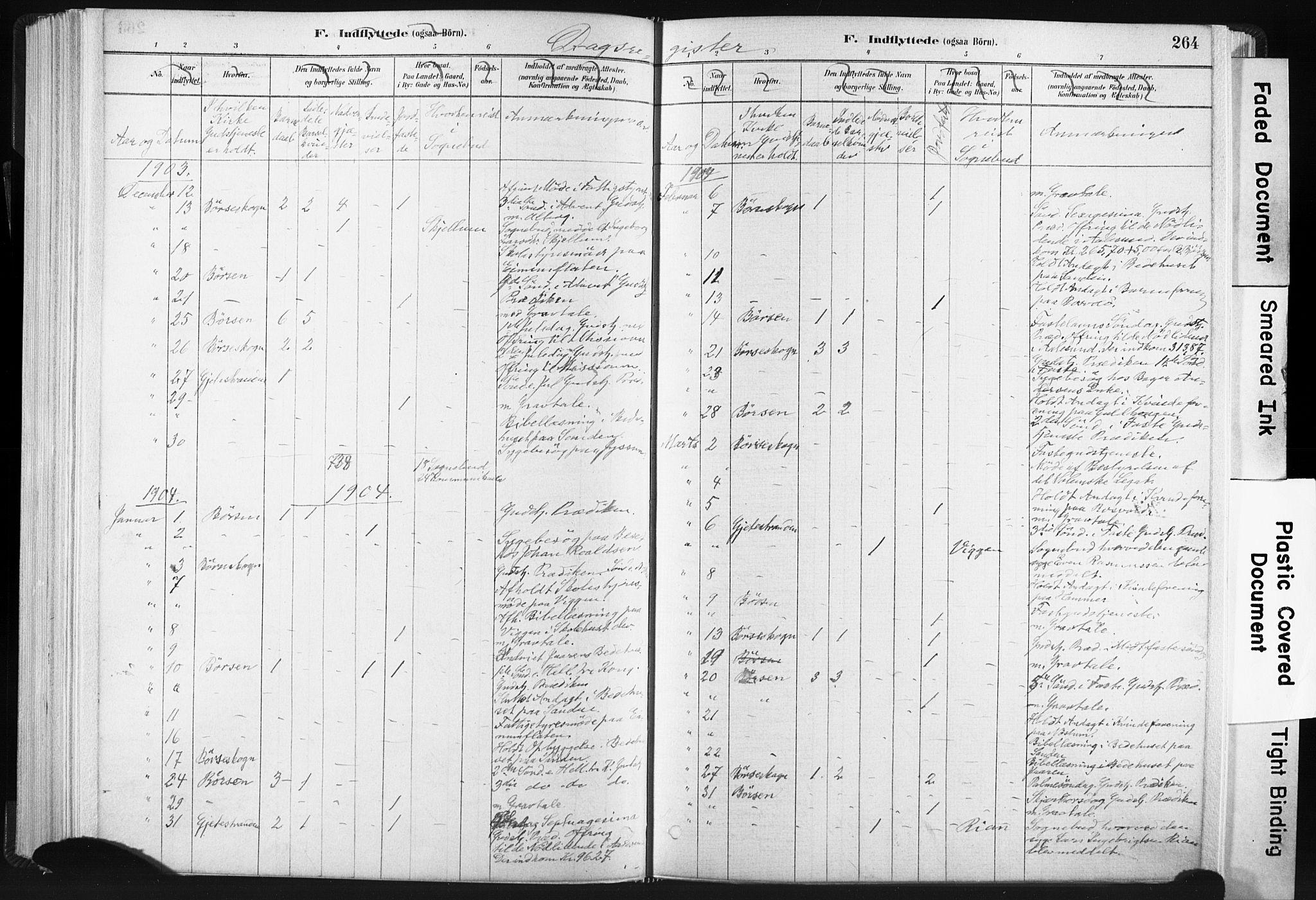 SAT, Ministerialprotokoller, klokkerbøker og fødselsregistre - Sør-Trøndelag, 665/L0773: Ministerialbok nr. 665A08, 1879-1905, s. 264