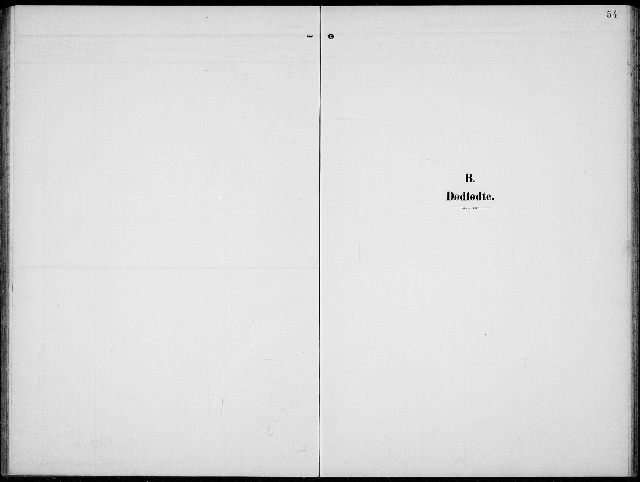 SAH, Lom prestekontor, L/L0007: Klokkerbok nr. 7, 1904-1938, s. 54
