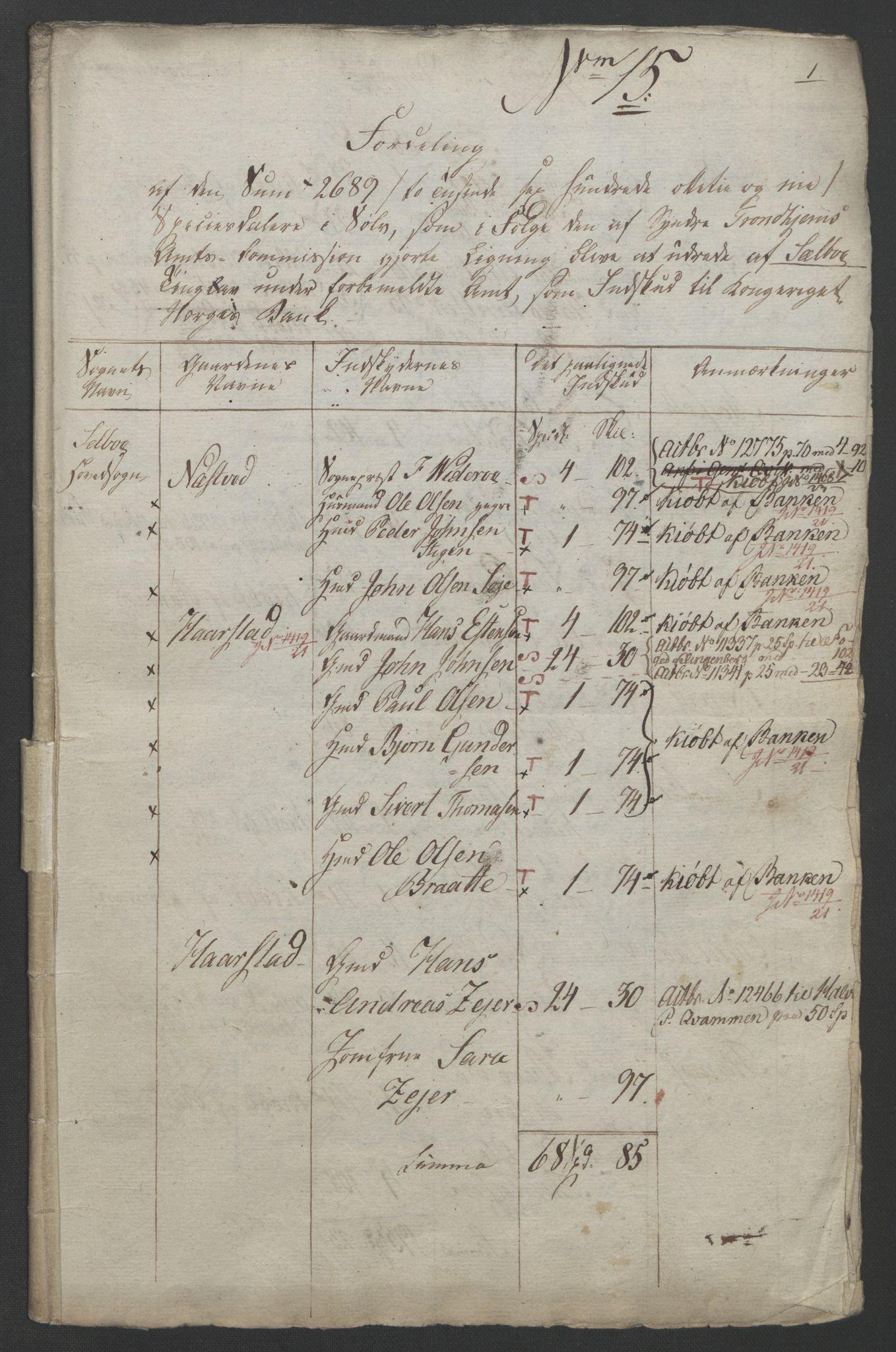 NOBA, Norges Bank/Sølvskatten 1816*, 1816-1821, s. 82