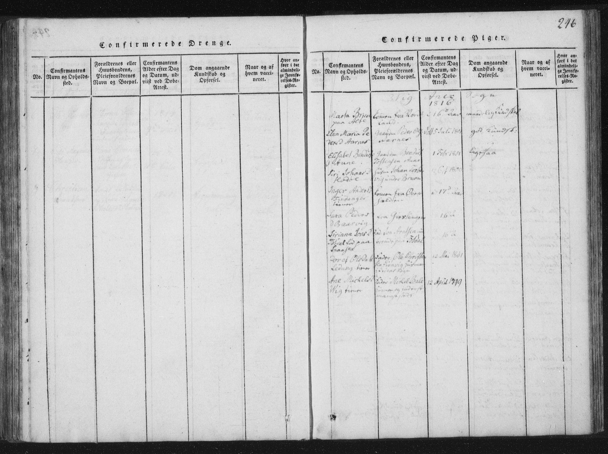 SAT, Ministerialprotokoller, klokkerbøker og fødselsregistre - Nord-Trøndelag, 773/L0609: Ministerialbok nr. 773A03 /2, 1815-1830, s. 246