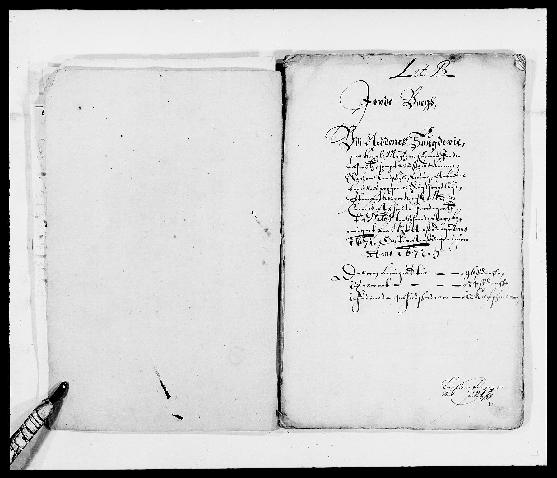 RA, Rentekammeret inntil 1814, Reviderte regnskaper, Fogderegnskap, R39/L2299: Fogderegnskap Nedenes, 1670-1671, s. 170
