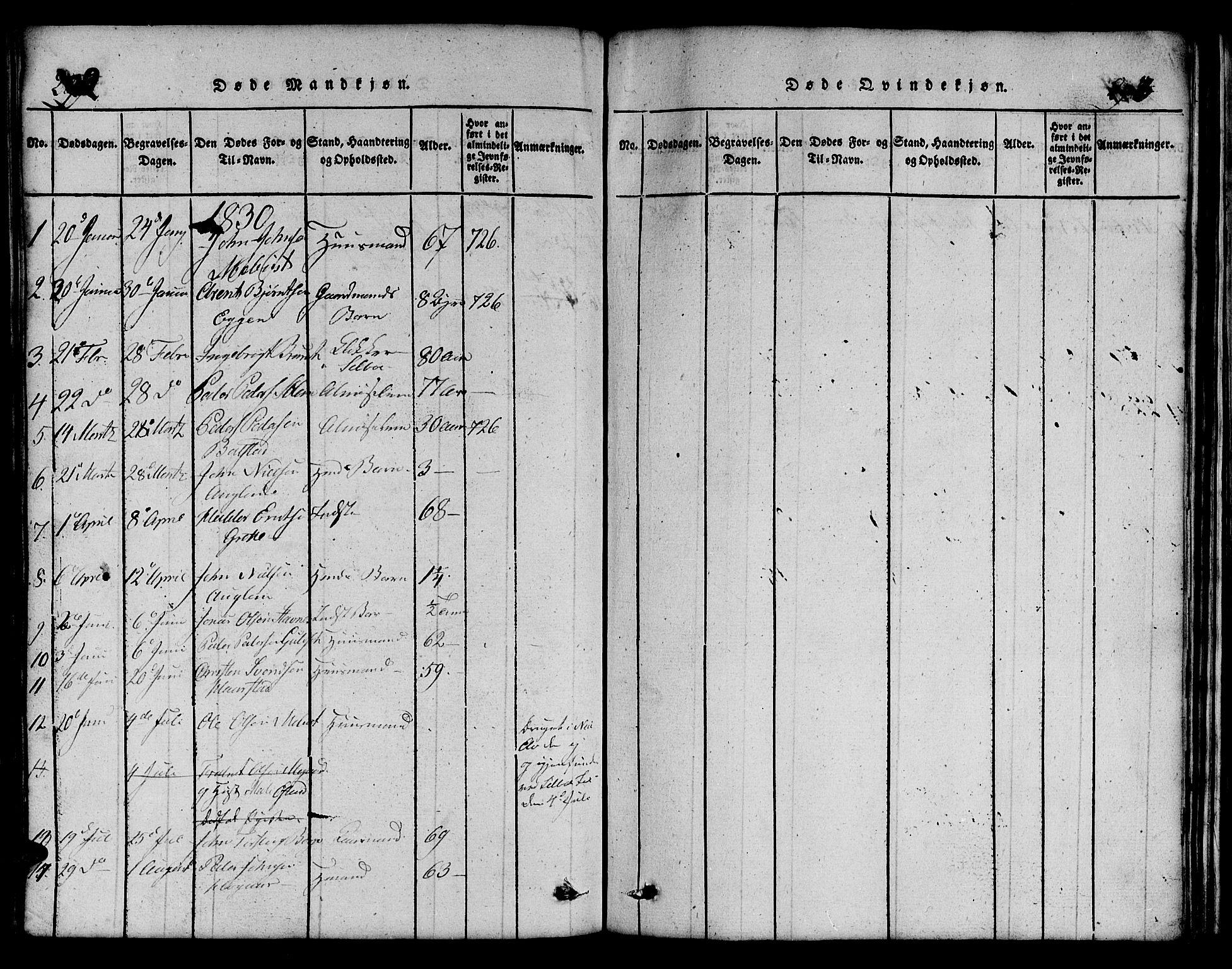 SAT, Ministerialprotokoller, klokkerbøker og fødselsregistre - Sør-Trøndelag, 695/L1152: Klokkerbok nr. 695C03, 1816-1831, s. 294-295