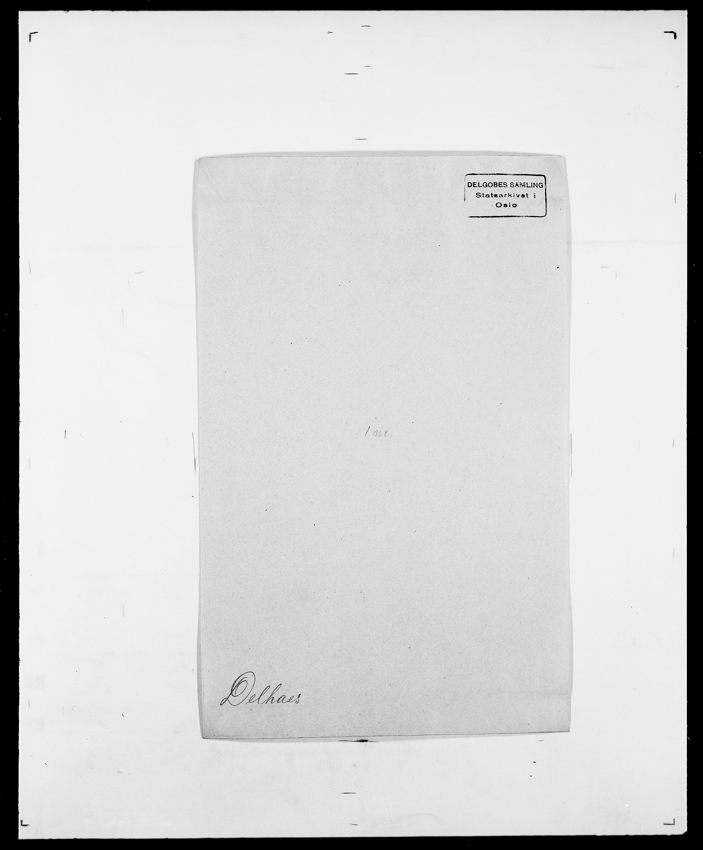 SAO, Delgobe, Charles Antoine - samling, D/Da/L0009: Dahl - v. Düren, s. 480