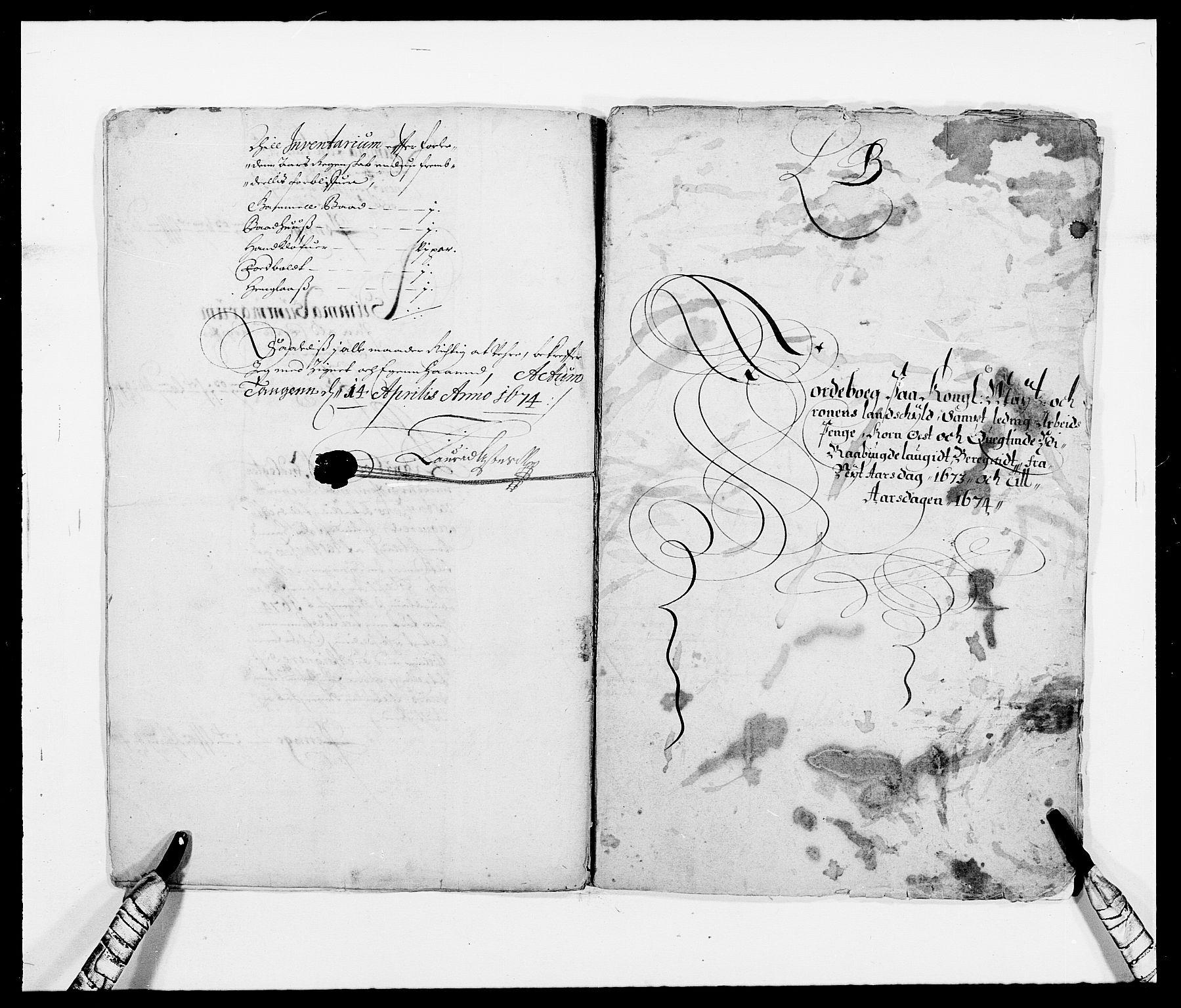 RA, Rentekammeret inntil 1814, Reviderte regnskaper, Fogderegnskap, R40/L2433: Fogderegnskap Råbyggelag, 1671-1674, s. 177