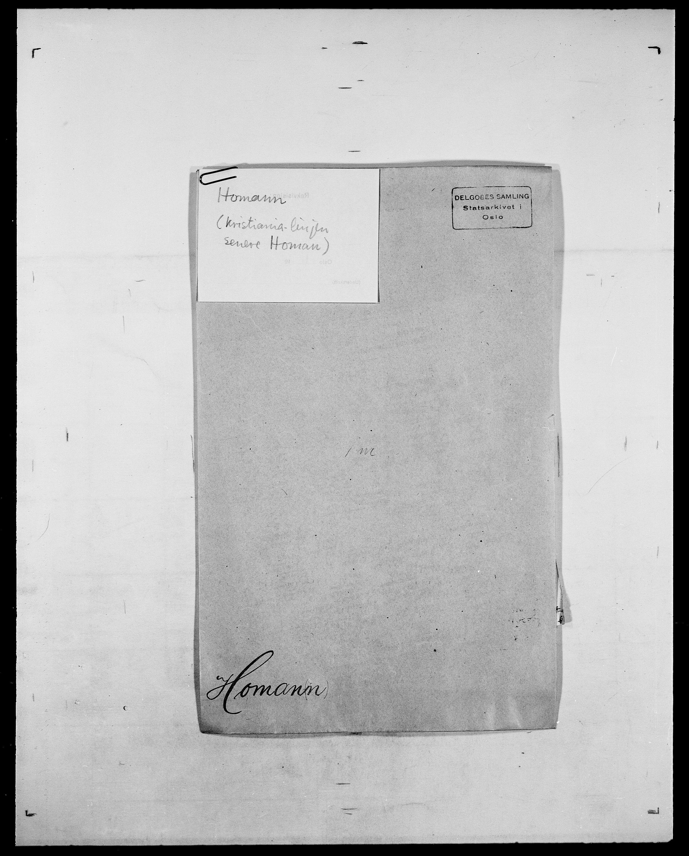 SAO, Delgobe, Charles Antoine - samling, D/Da/L0018: Hoch - Howert, s. 891