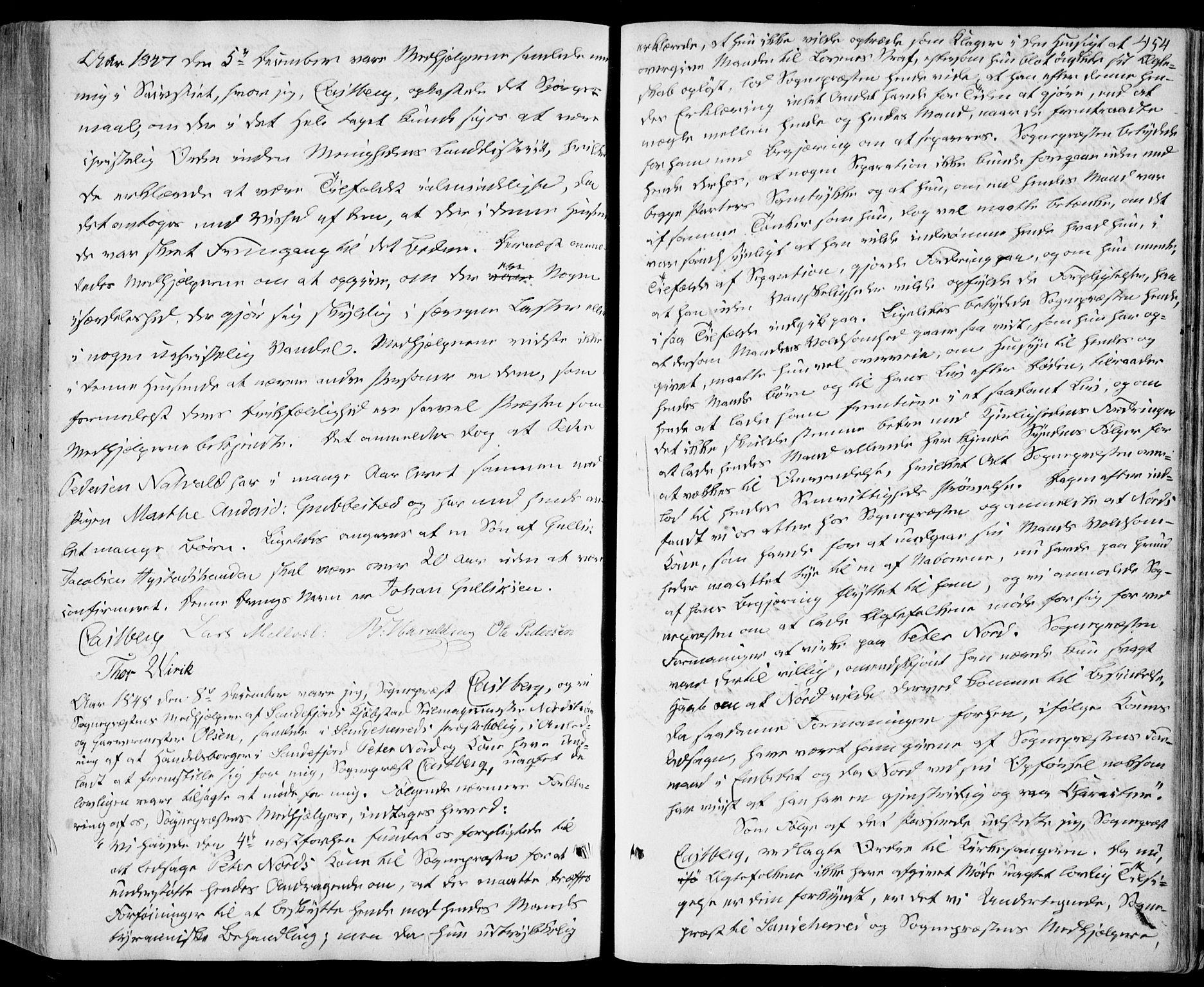 SAKO, Sandar kirkebøker, F/Fa/L0006: Ministerialbok nr. 6, 1847-1860, s. 454