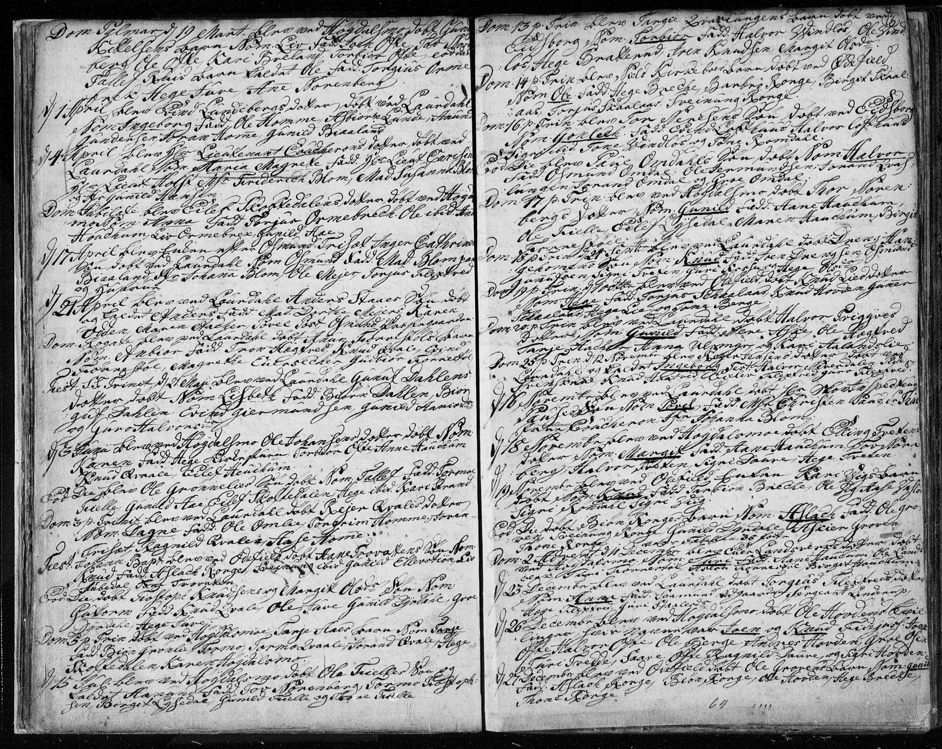 SAKO, Lårdal kirkebøker, F/Fa/L0003: Ministerialbok nr. I 3, 1754-1790, s. 17