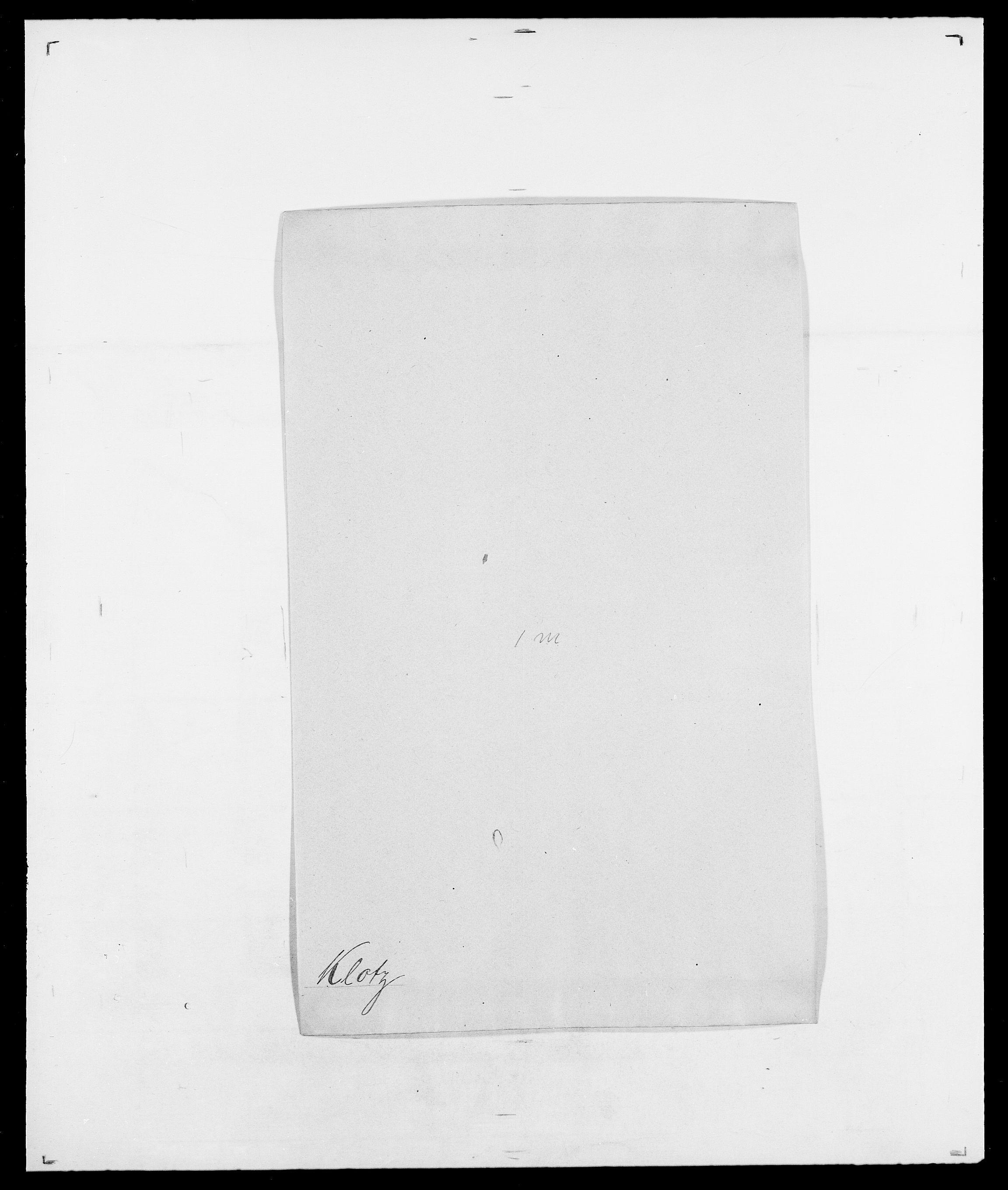 SAO, Delgobe, Charles Antoine - samling, D/Da/L0021: Klagenberg - Kristoft, s. 149