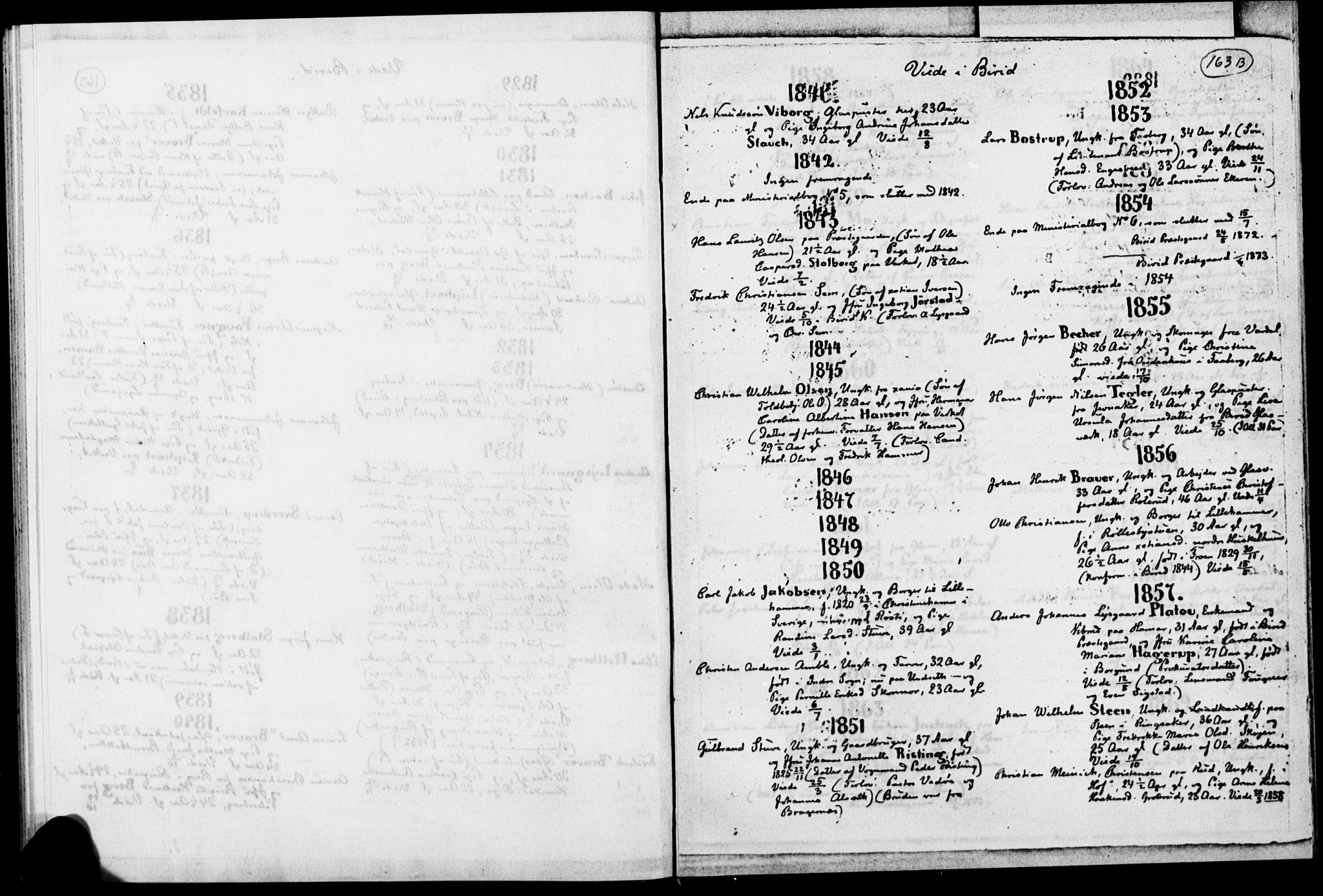 SAH, Biri prestekontor, Ministerialbok, 1730-1879, s. 163b