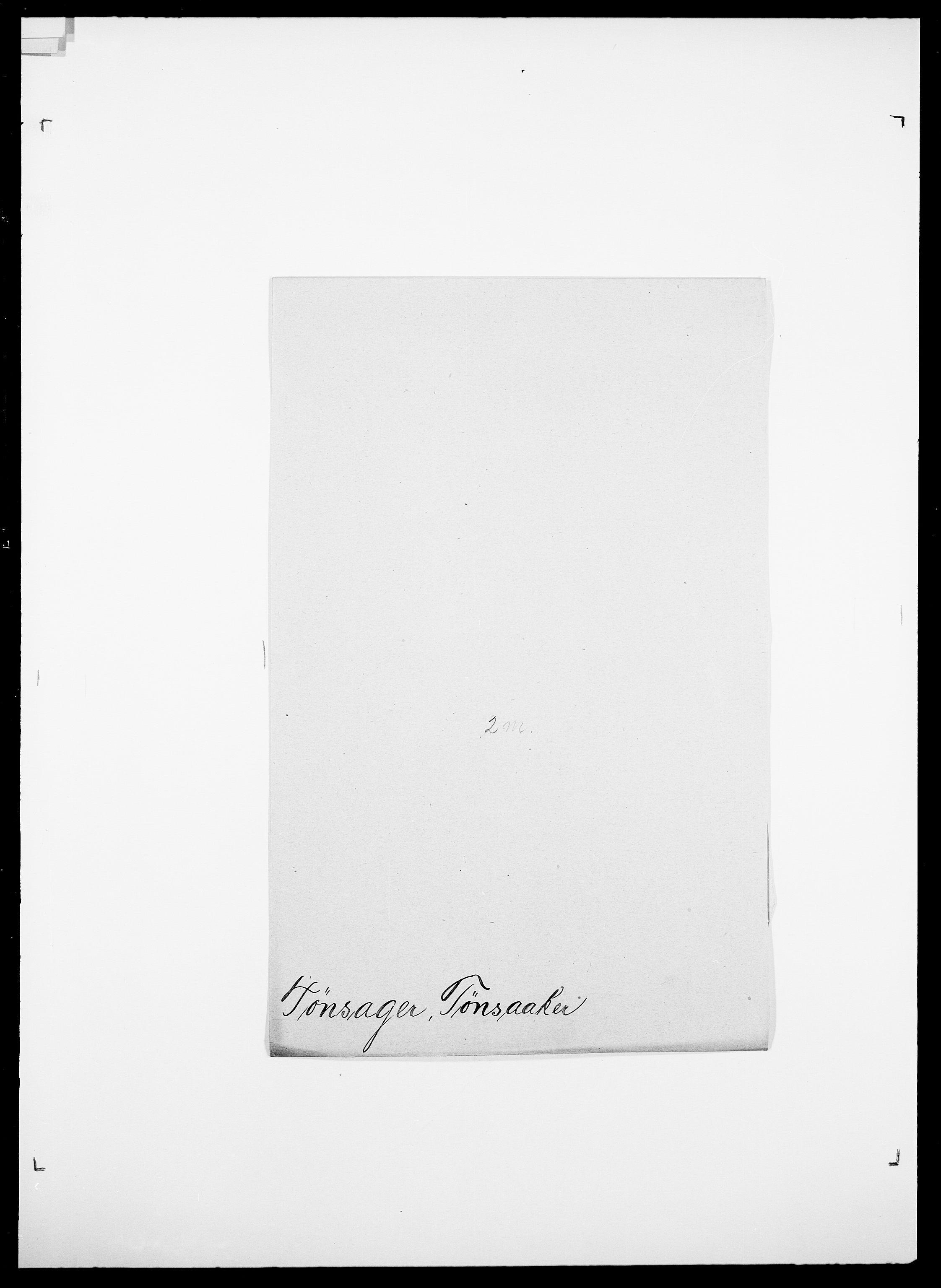 SAO, Delgobe, Charles Antoine - samling, D/Da/L0039: Thorsen - Urup, s. 589