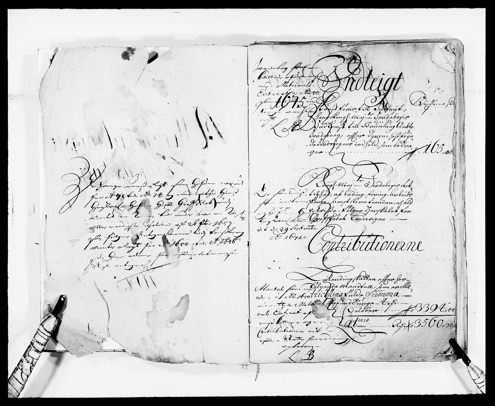 RA, Rentekammeret inntil 1814, Reviderte regnskaper, Fogderegnskap, R33/L1967: Fogderegnskap Larvik grevskap, 1675-1687, s. 2
