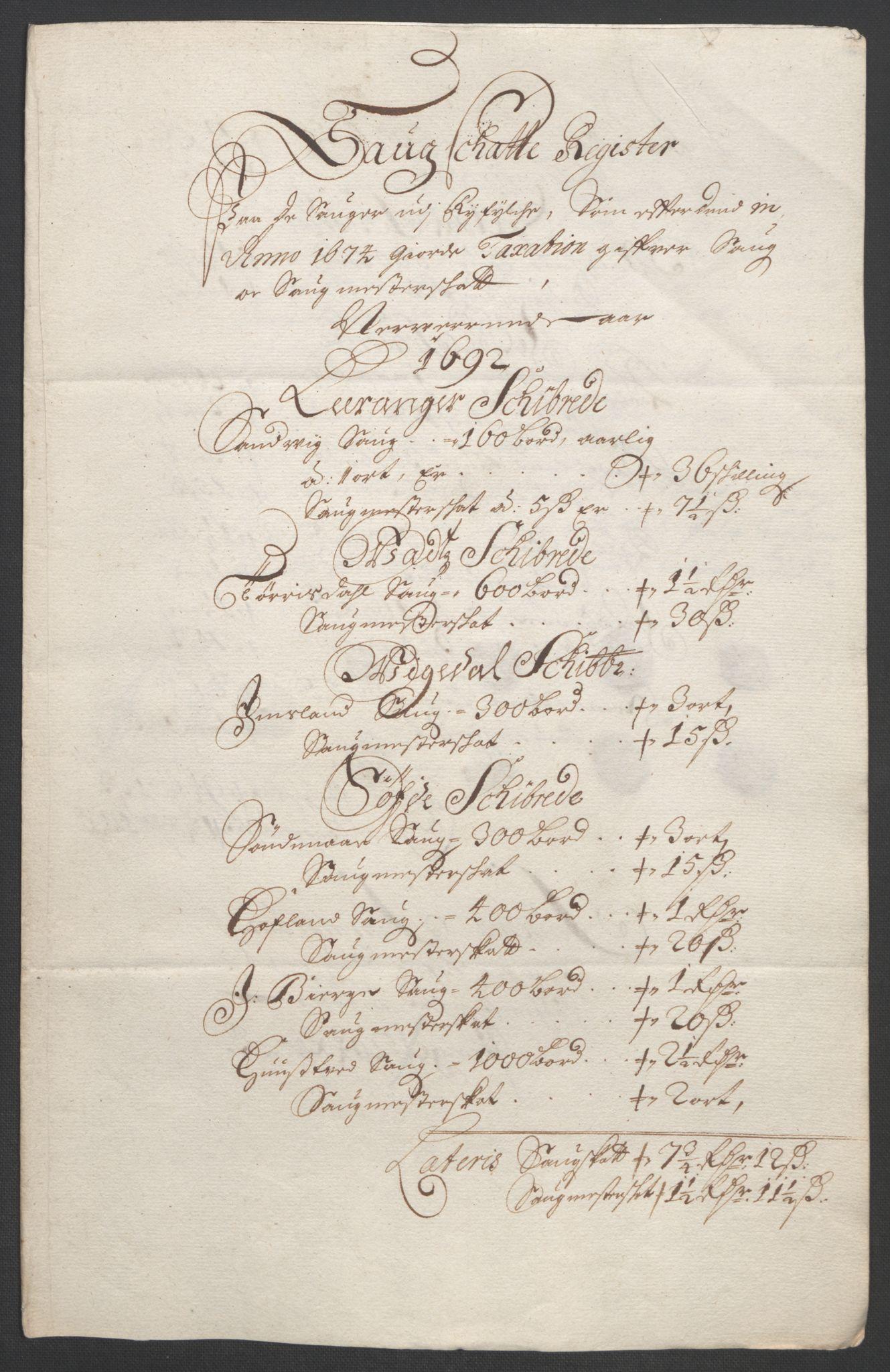 RA, Rentekammeret inntil 1814, Reviderte regnskaper, Fogderegnskap, R47/L2856: Fogderegnskap Ryfylke, 1689-1693, s. 515
