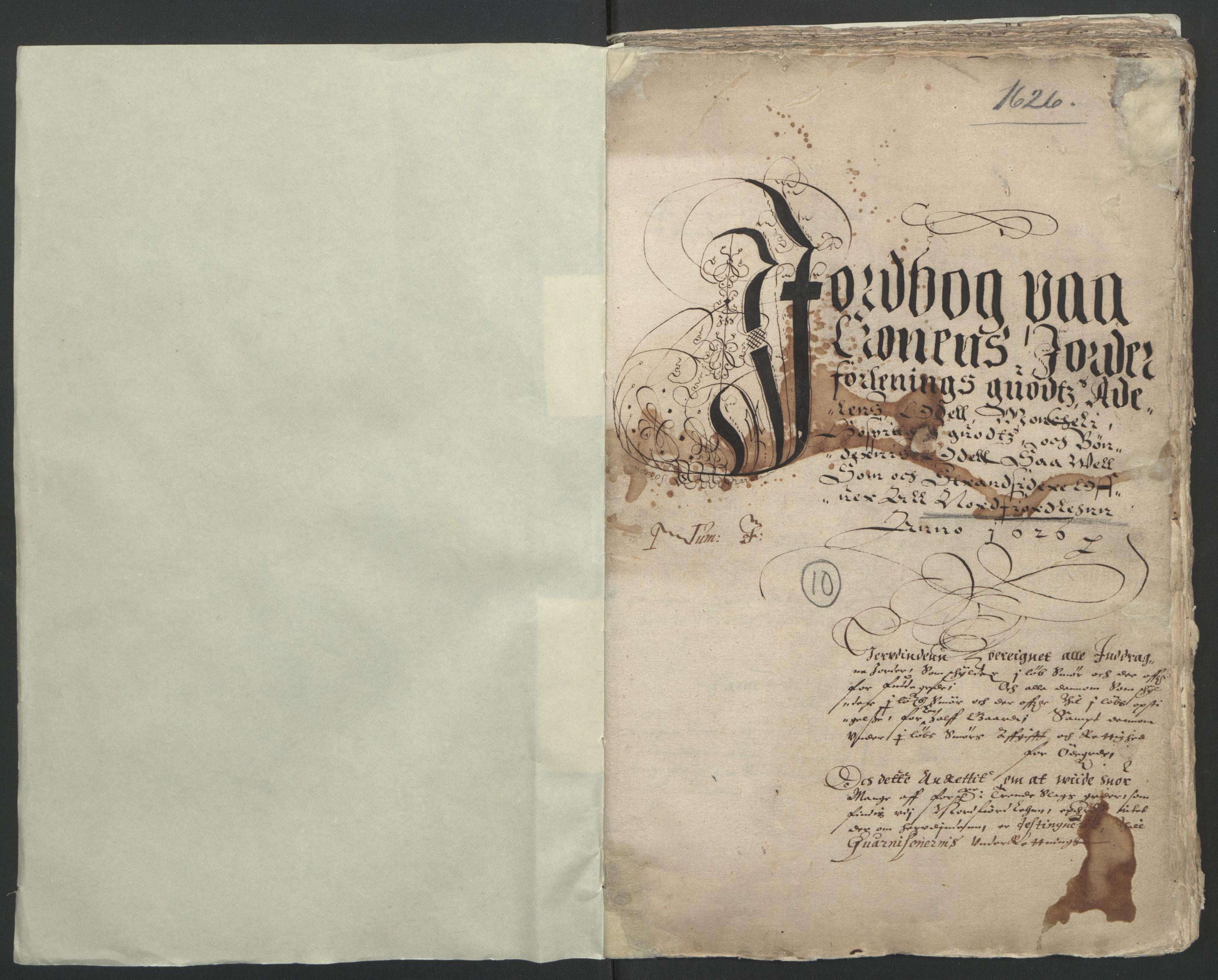 RA, Stattholderembetet 1572-1771, Ek/L0005: Jordebøker til utlikning av garnisonsskatt 1624-1626:, 1626, s. 33