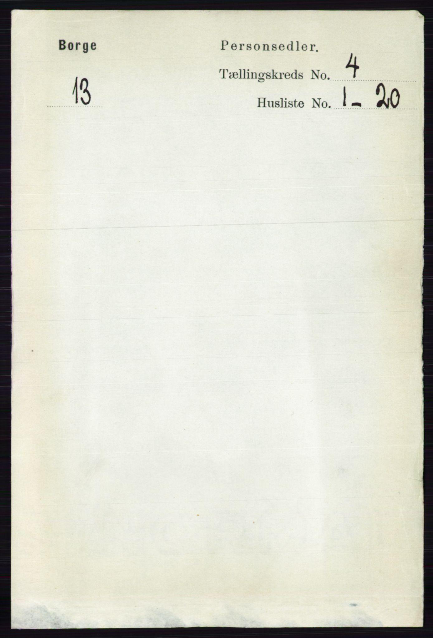 RA, Folketelling 1891 for 0113 Borge herred, 1891, s. 1655